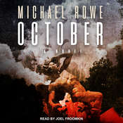 October: A Novel Audiobook, by Michael Rowe