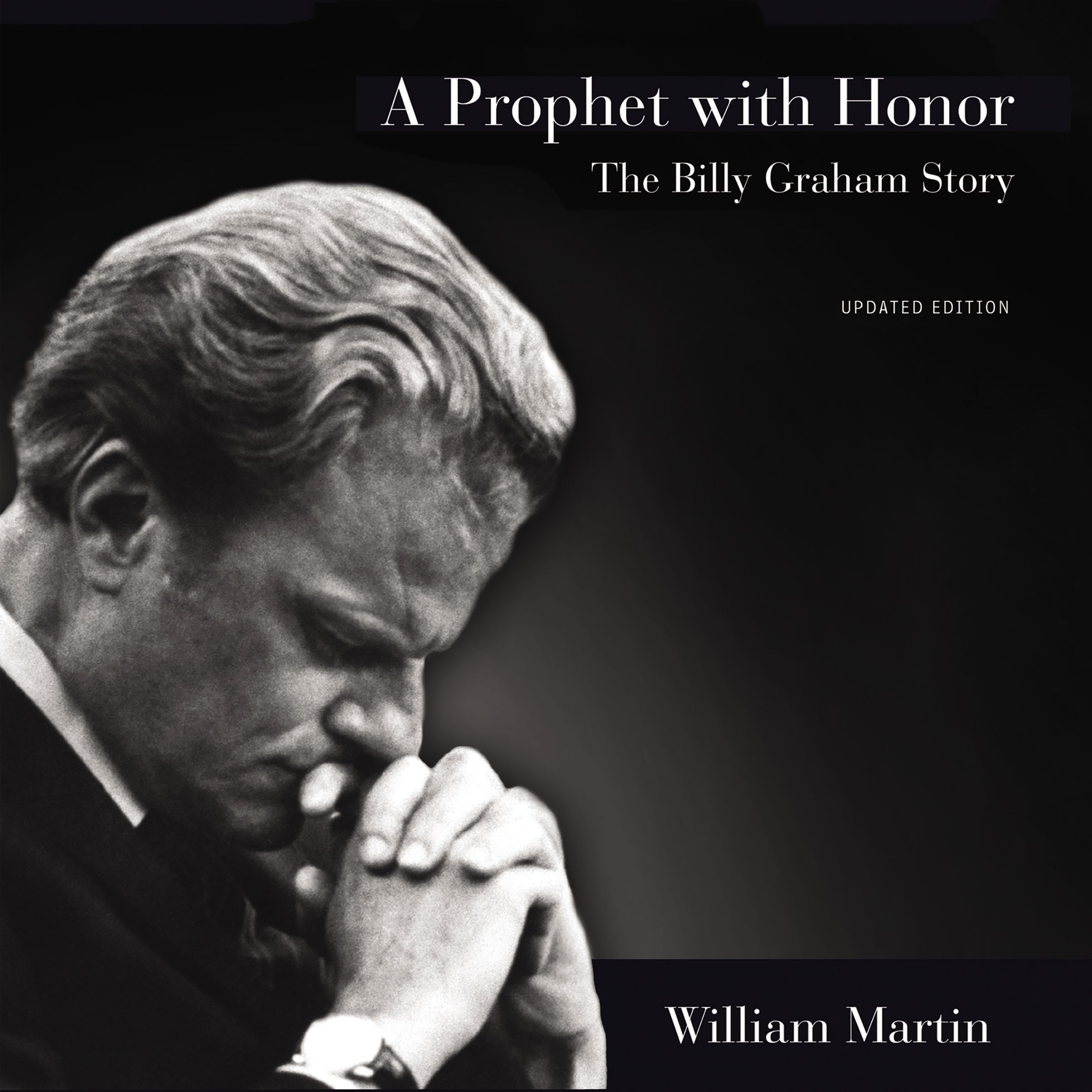 Printable A Prophet with Honor: The Billy Graham Story Audiobook Cover Art