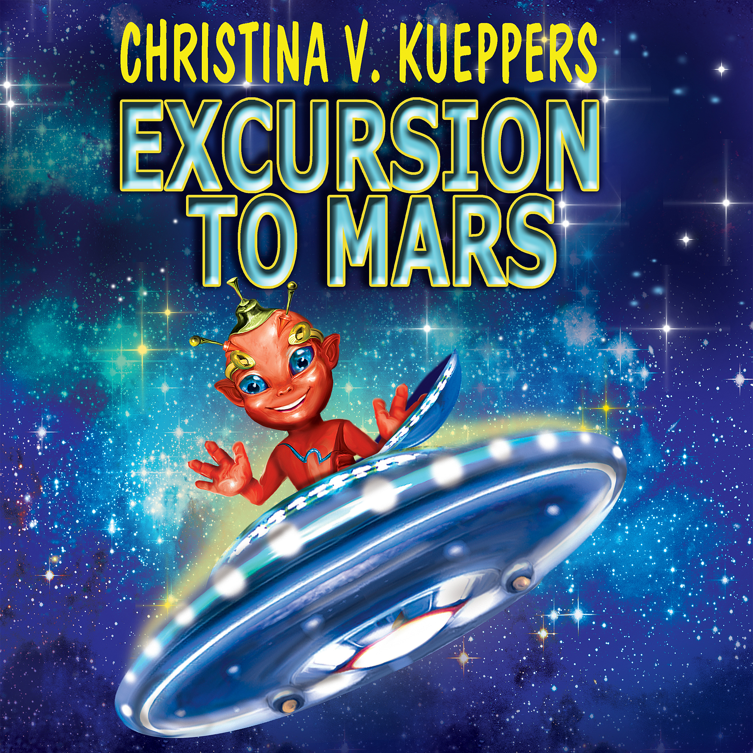 Printable Excursion to Mars Audiobook Cover Art