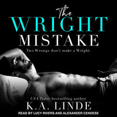 The Wright Mistake Audiobook, by K. A. Linde
