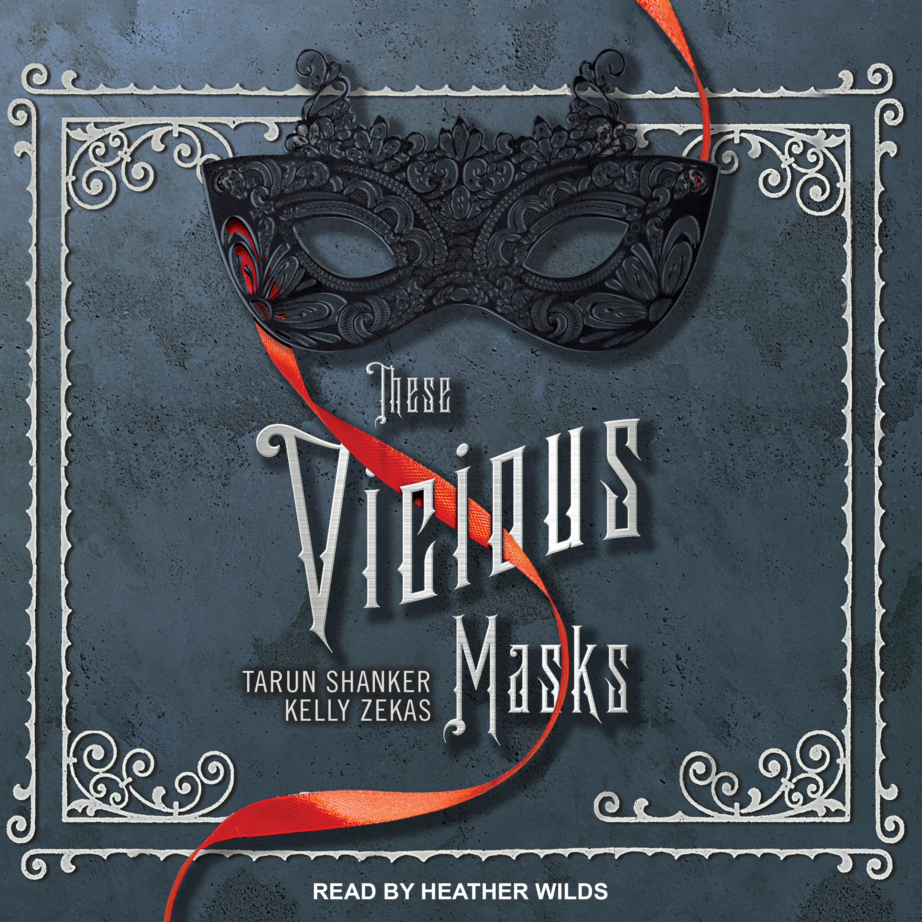 Printable These Vicious Masks Audiobook Cover Art
