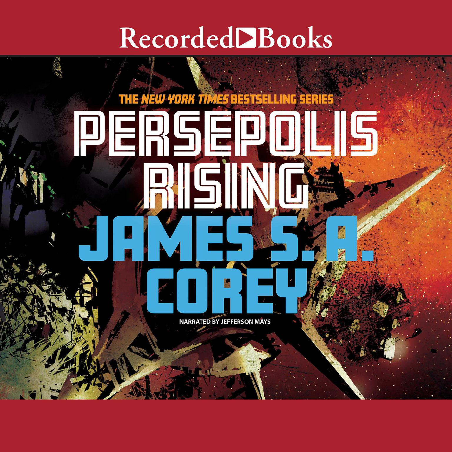 Printable Persepolis Rising Audiobook Cover Art