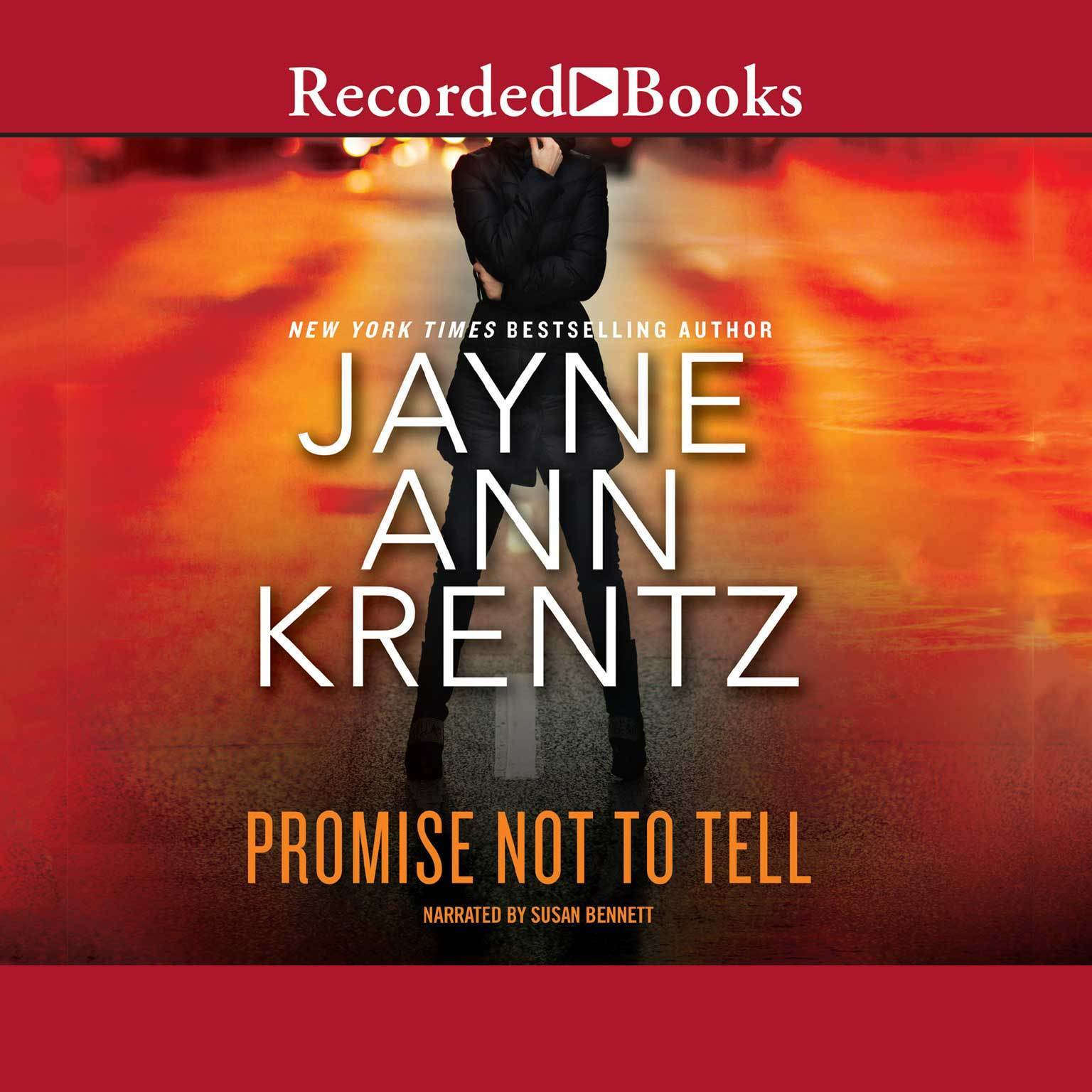 Printable Promise Not to Tell Audiobook Cover Art