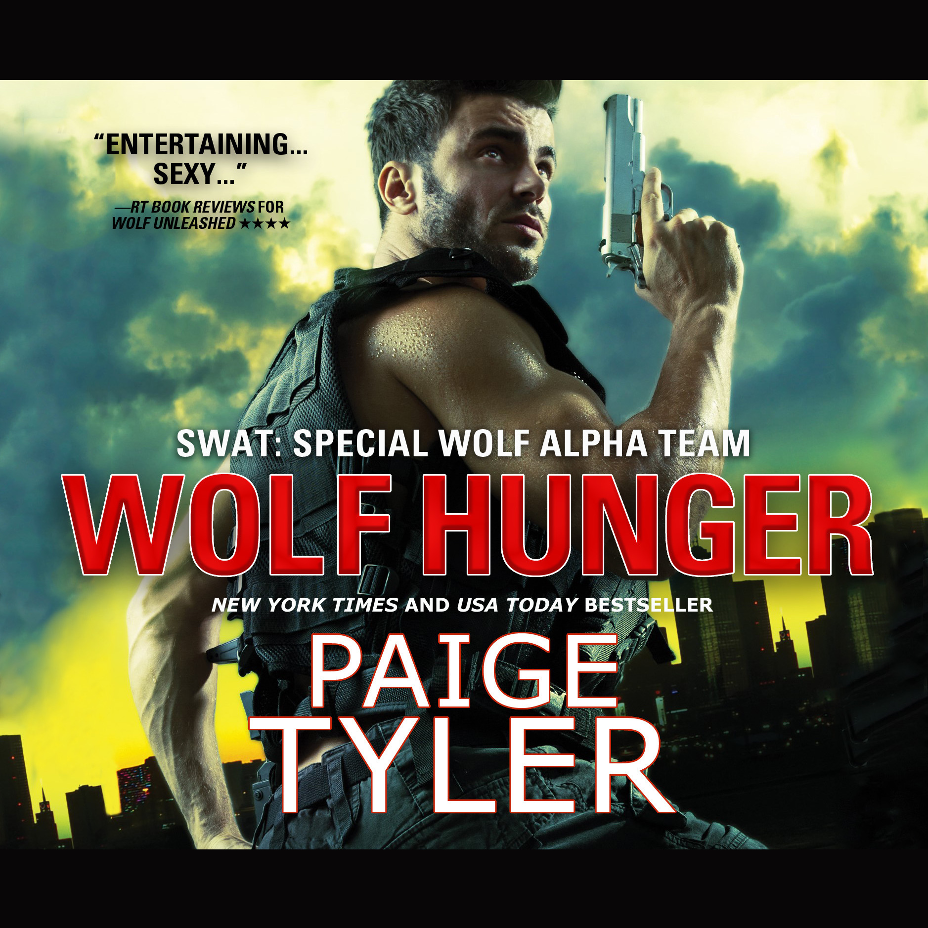 Printable Wolf Hunger Audiobook Cover Art