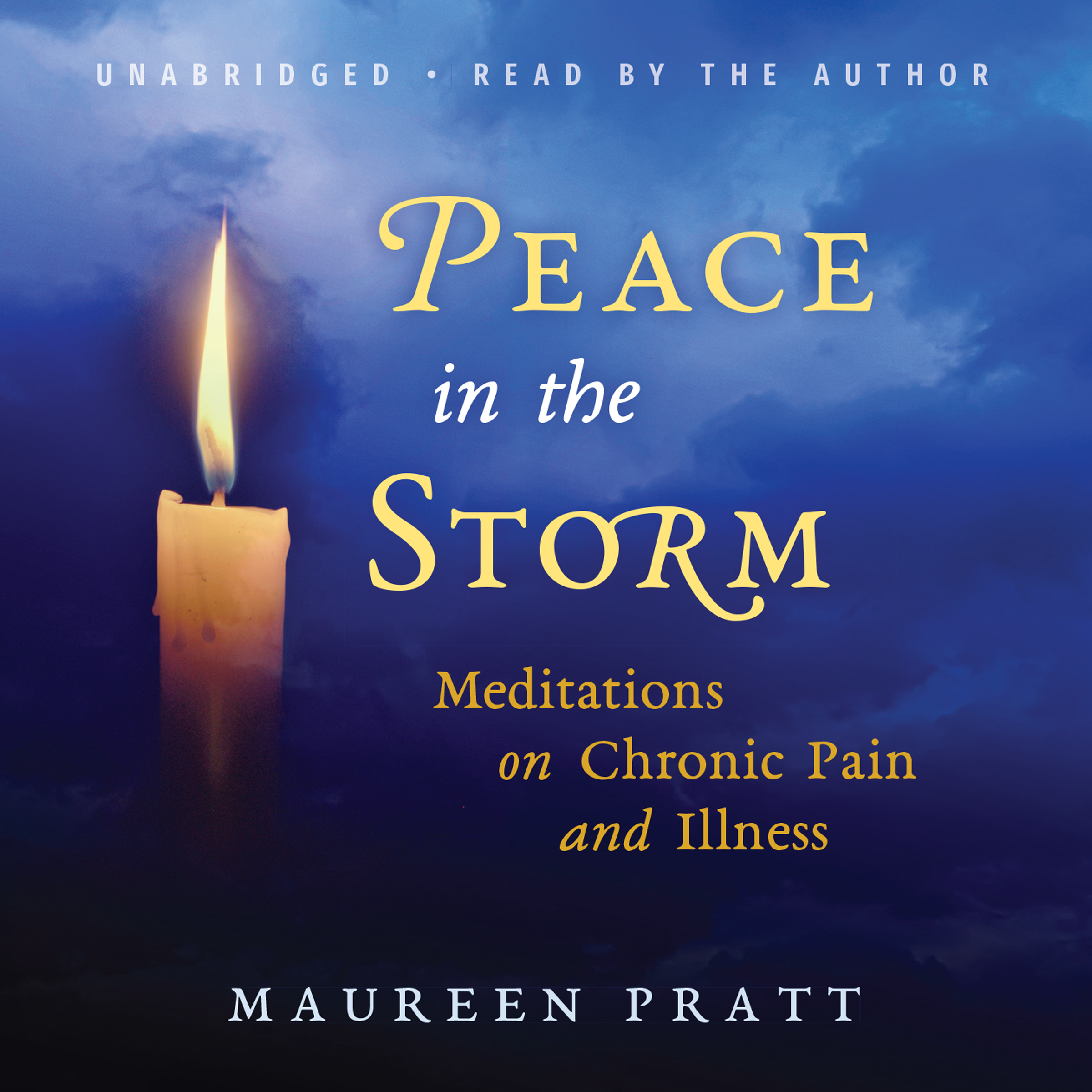 Printable Peace in the Storm: Meditations on Chronic Pain and Illness Audiobook Cover Art
