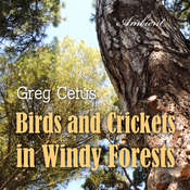 Birds and Crickets in Windy Forests: Productivity Soundscape for Clarity and Relaxation Audiobook, by Greg Cetus