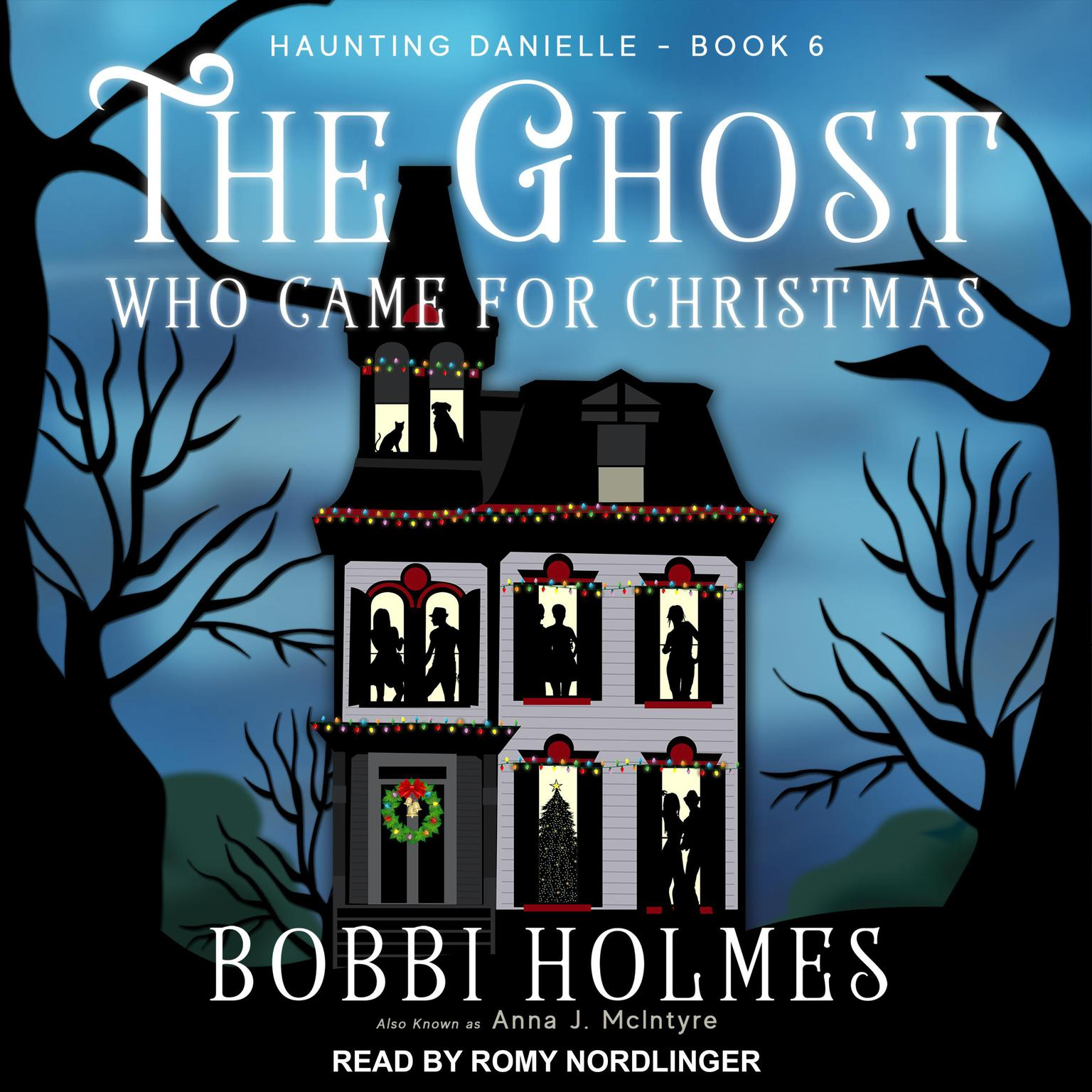Printable The Ghost Who Came for Christmas Audiobook Cover Art