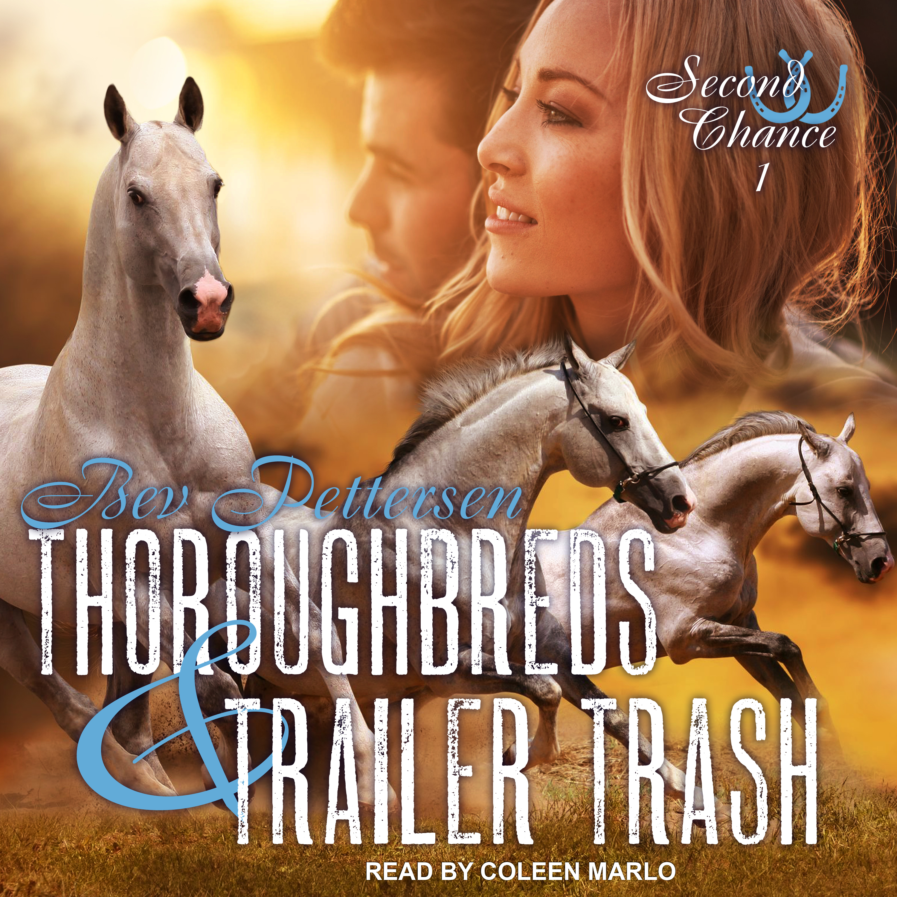 Printable Thoroughbreds and Trailer Trash Audiobook Cover Art