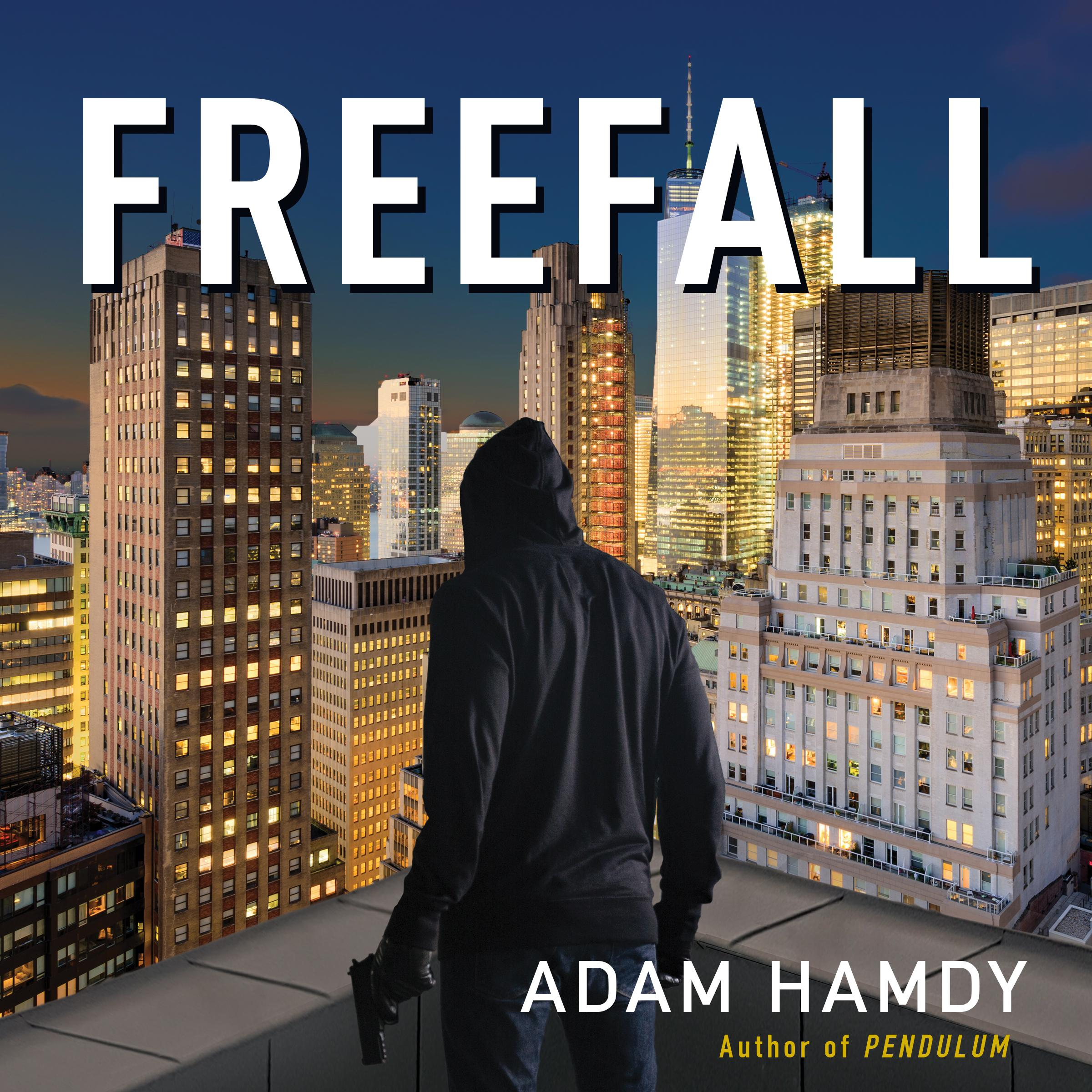Printable Freefall Audiobook Cover Art