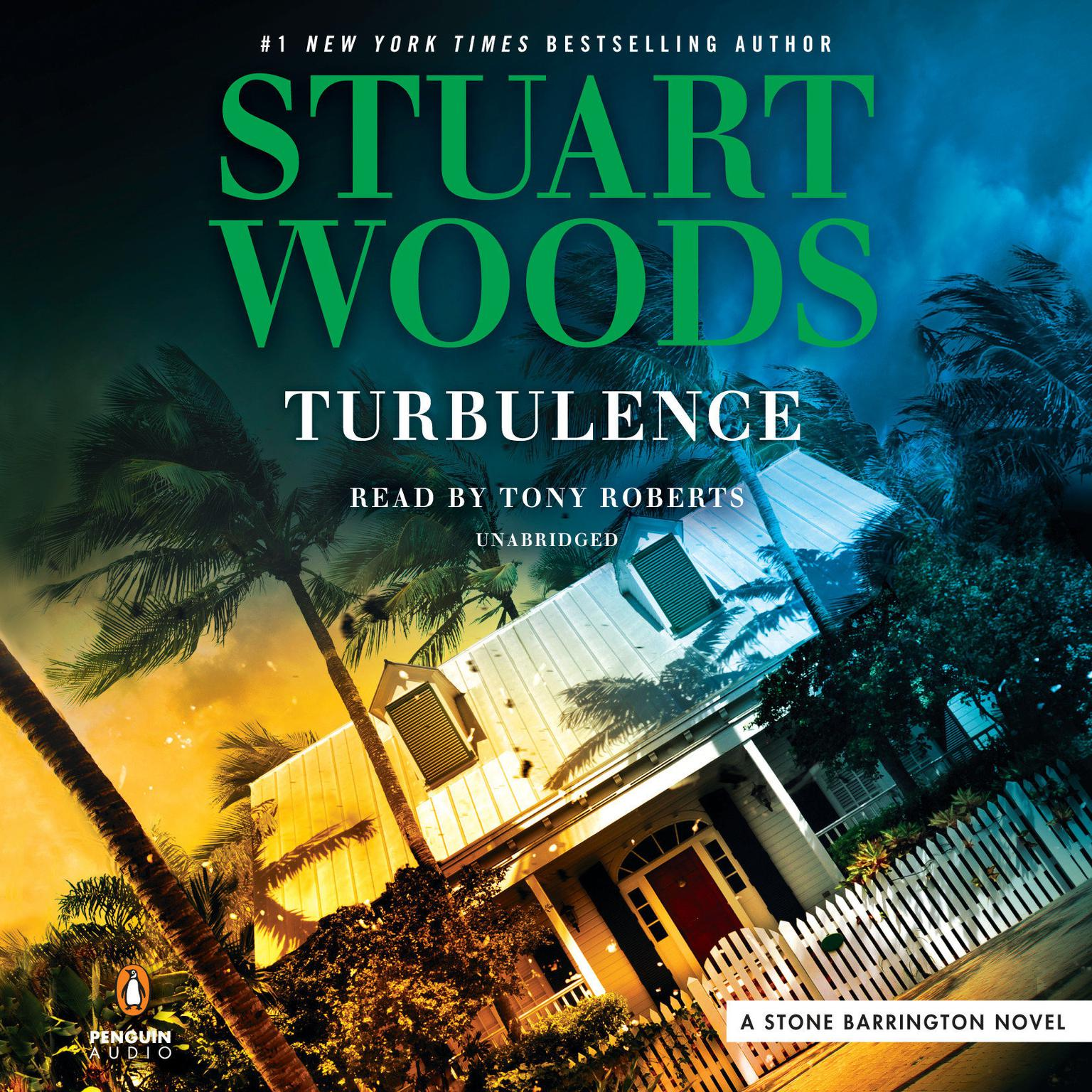 Printable Turbulence Audiobook Cover Art