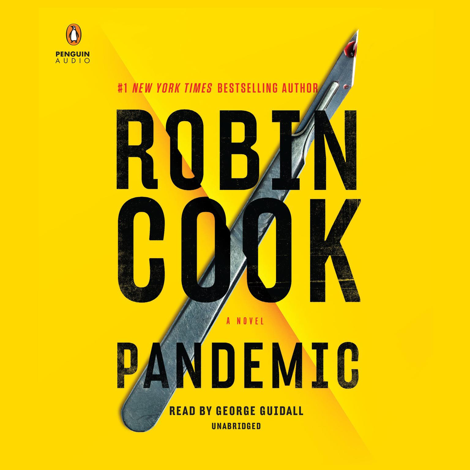 Printable Pandemic Audiobook Cover Art