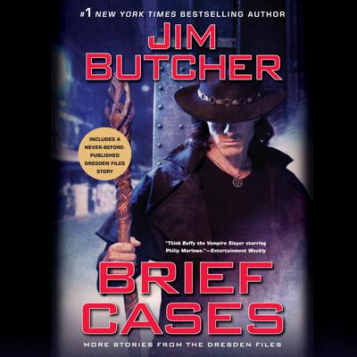Brief Cases Audiobook, by Jim Butcher