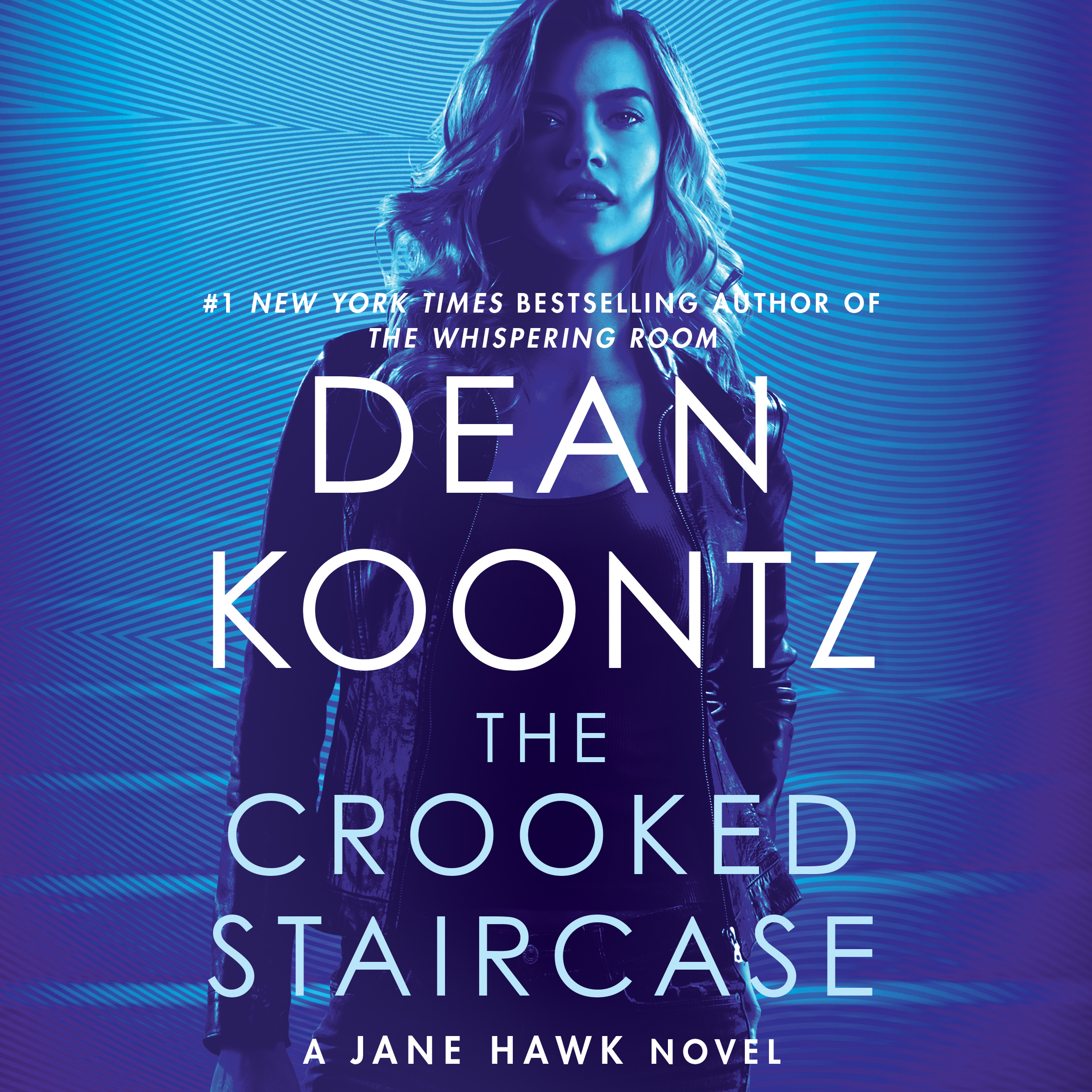 Printable The Crooked Staircase: A Jane Hawk Novel Audiobook Cover Art