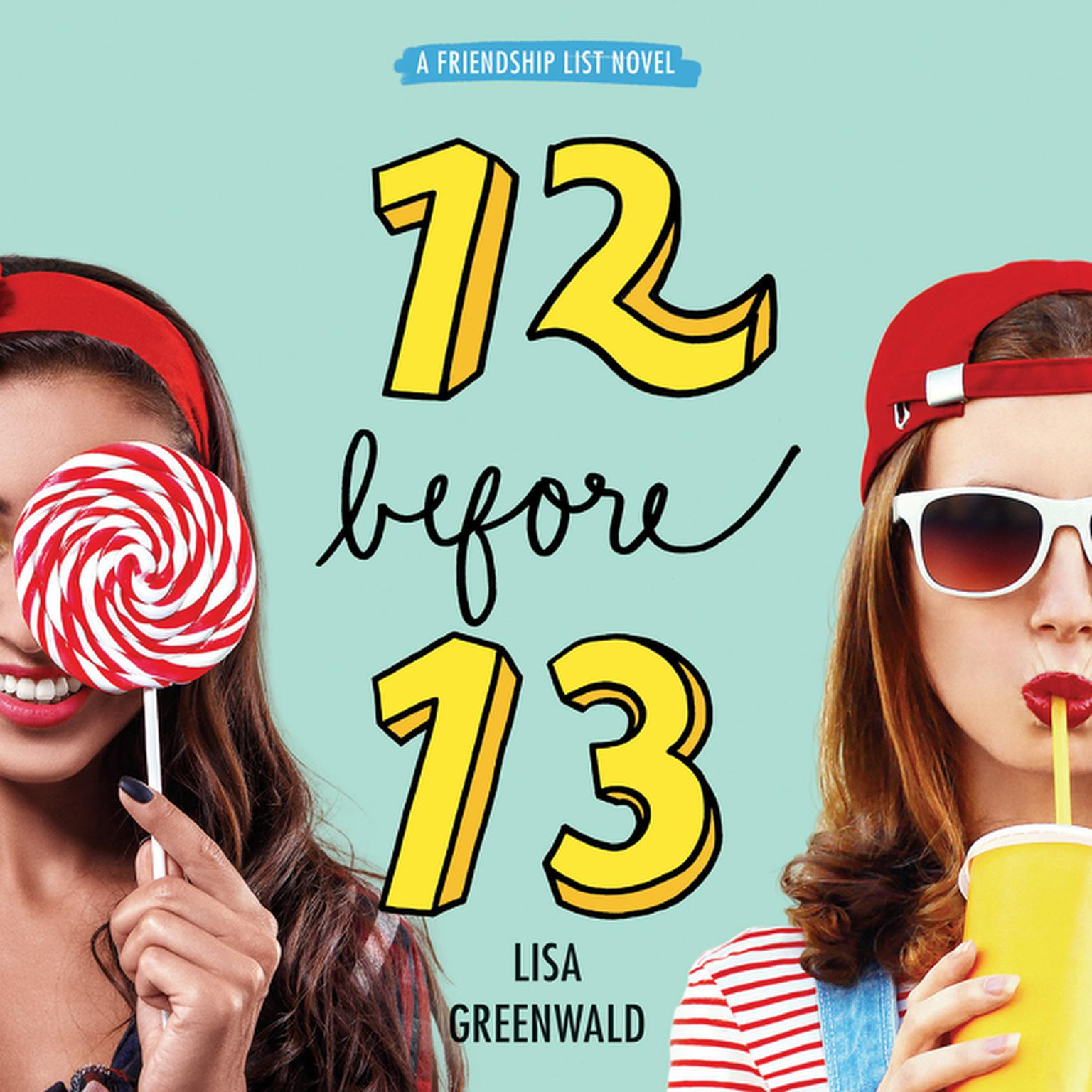 Printable Friendship List #2: 12 Before 13 Audiobook Cover Art