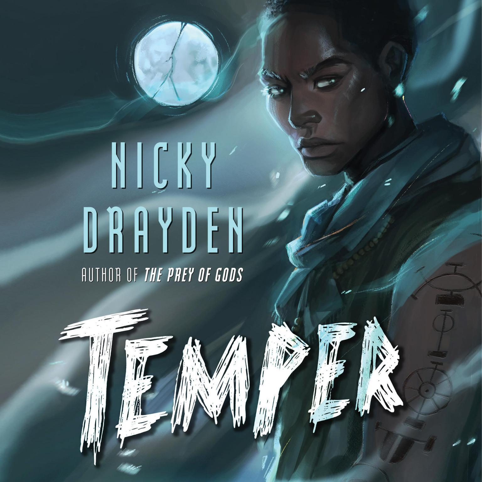 Printable Temper: A Novel Audiobook Cover Art