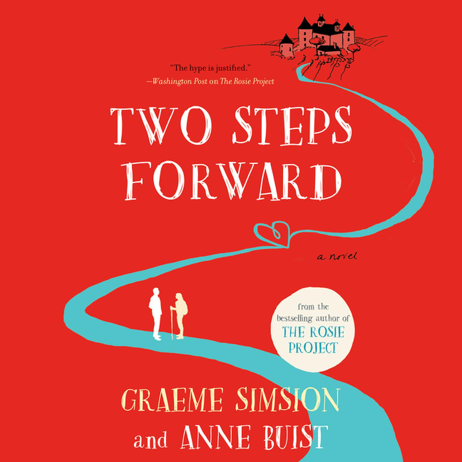 Printable Two Steps Forward: A Novel Audiobook Cover Art