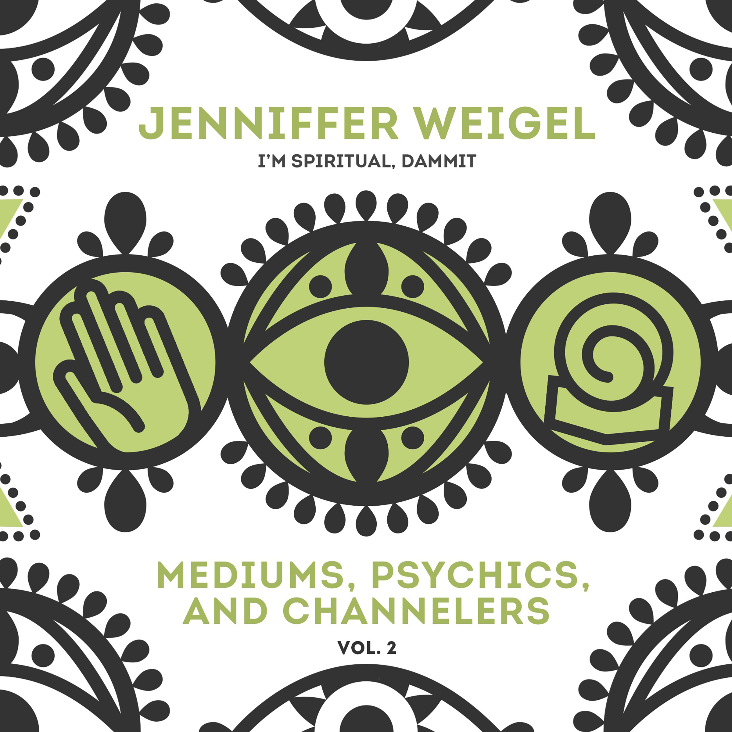 Printable Mediums, Psychics, and Channelers, Vol. 2 Audiobook Cover Art