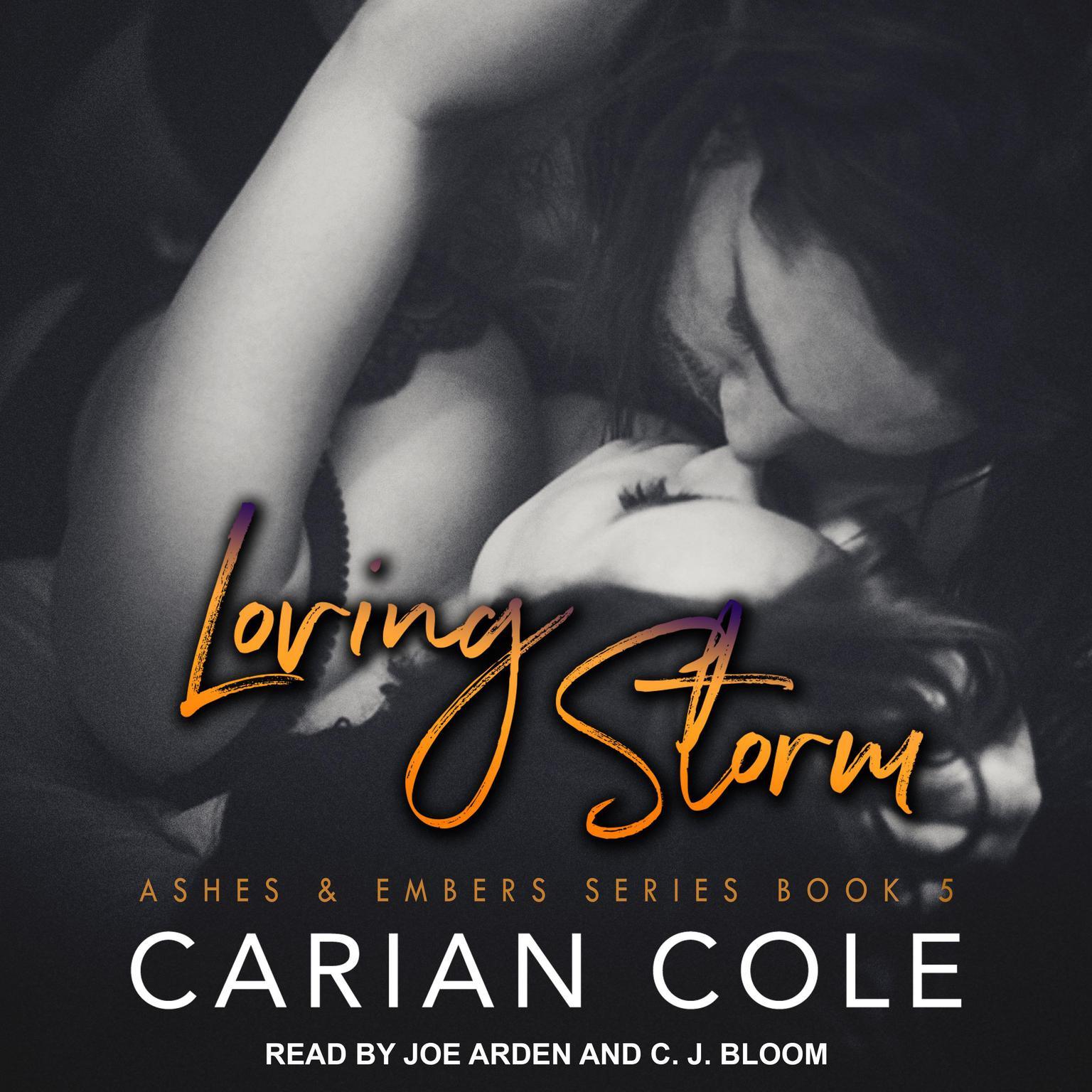 Printable Loving Storm Audiobook Cover Art