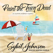 Paint the Town Dead Audiobook, by Sybil Johnson