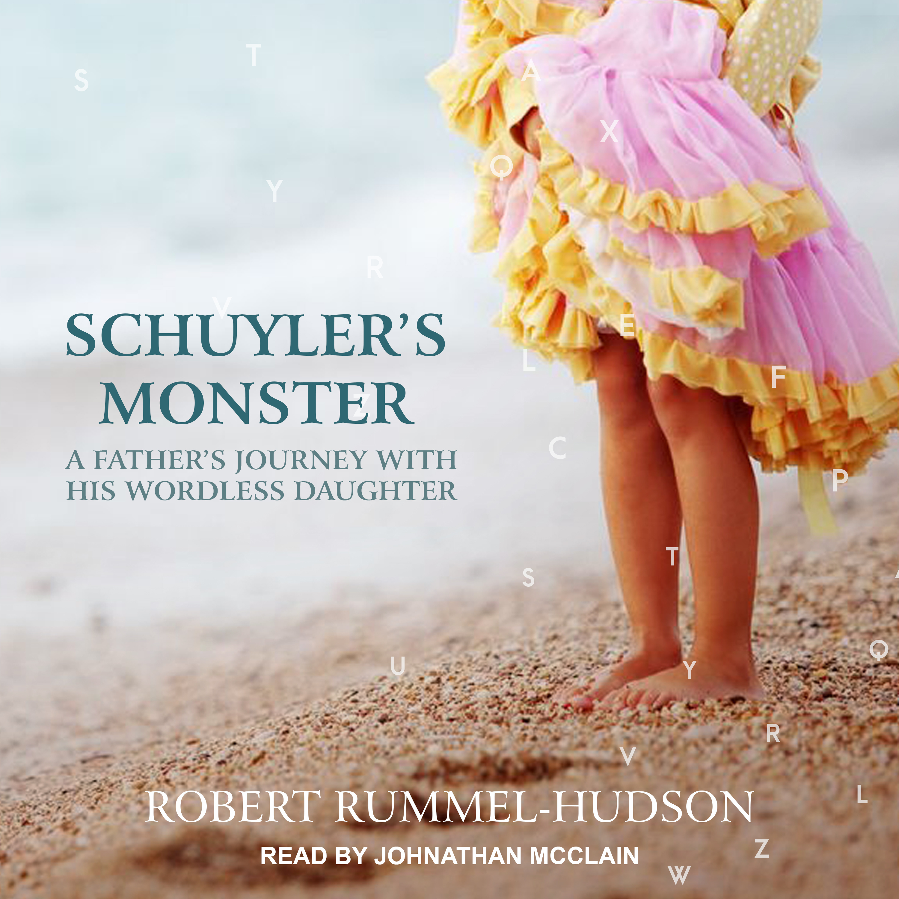 Printable Schuyler's Monster: A Father's Journey with His Wordless Daughter Audiobook Cover Art