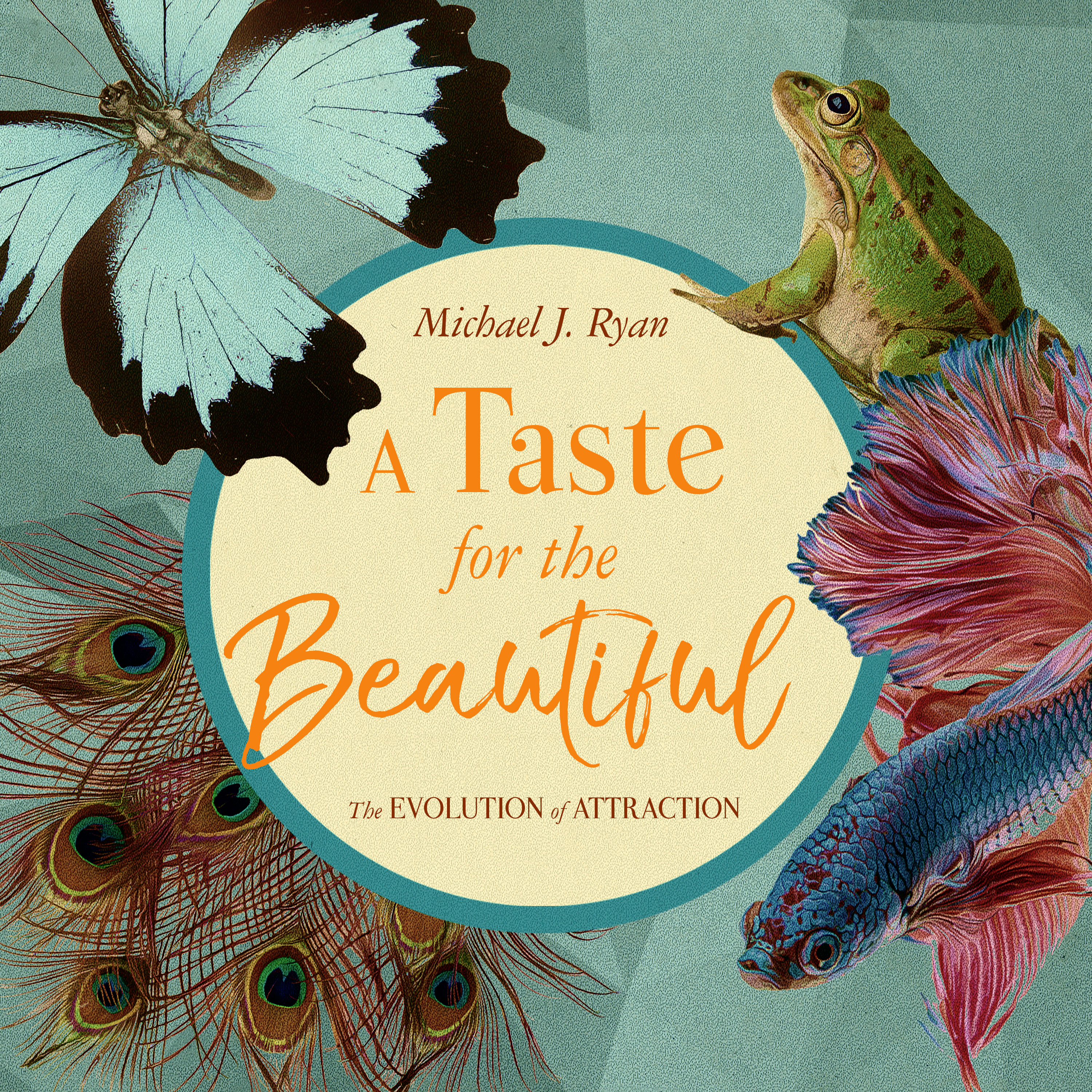 Printable A Taste for the Beautiful: The Evolution of Attraction Audiobook Cover Art