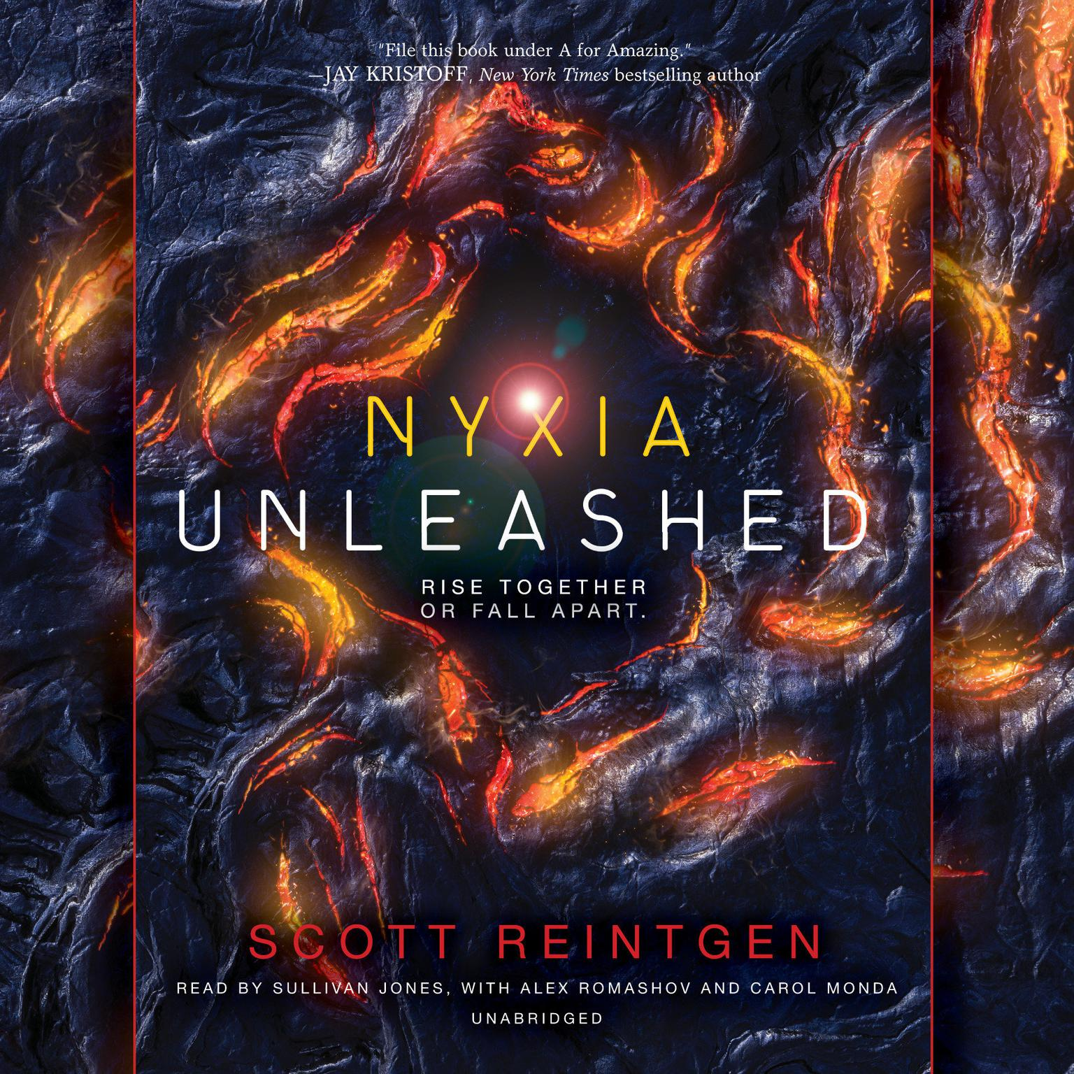 Printable Nyxia Unleashed Audiobook Cover Art