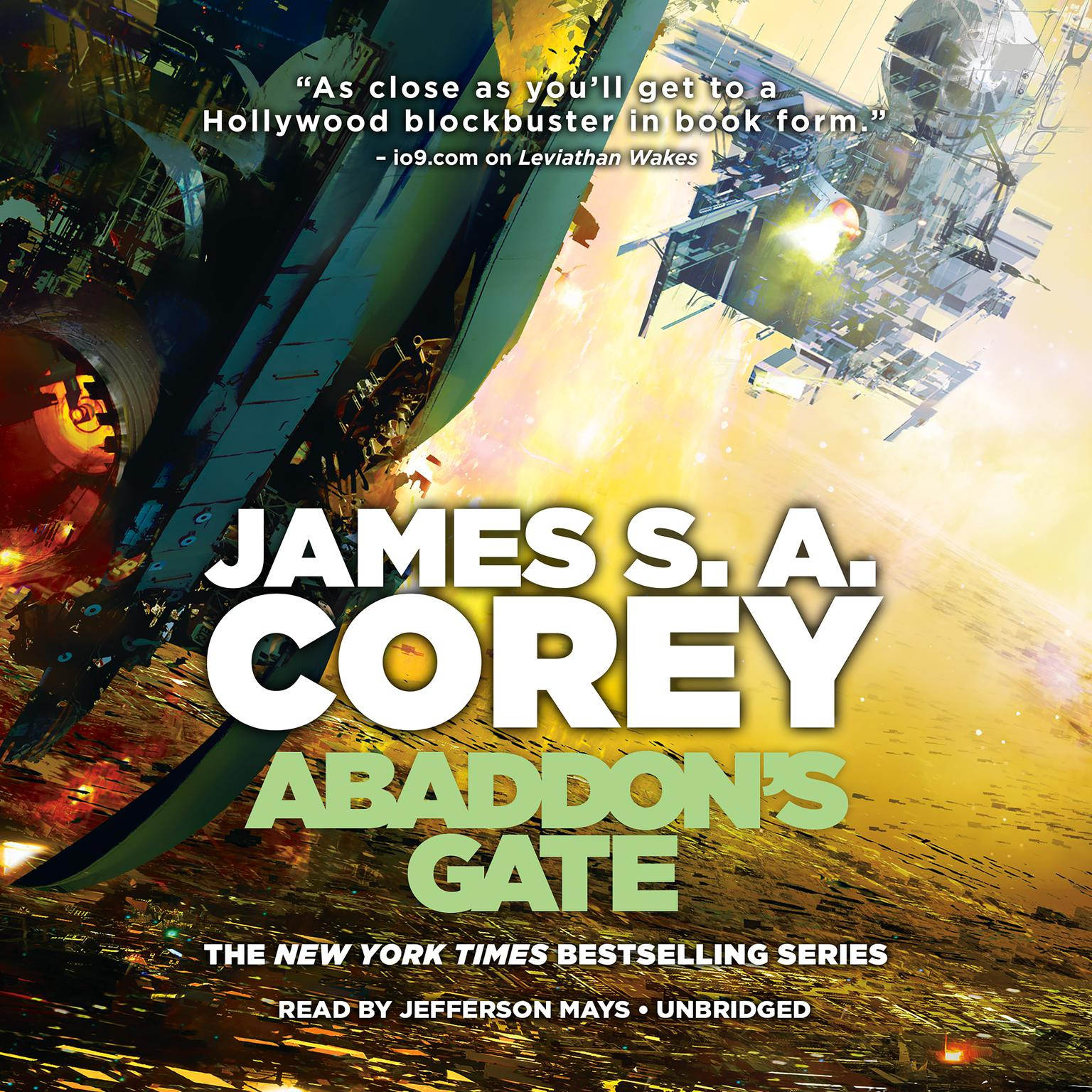 Printable Abaddon's Gate Audiobook Cover Art