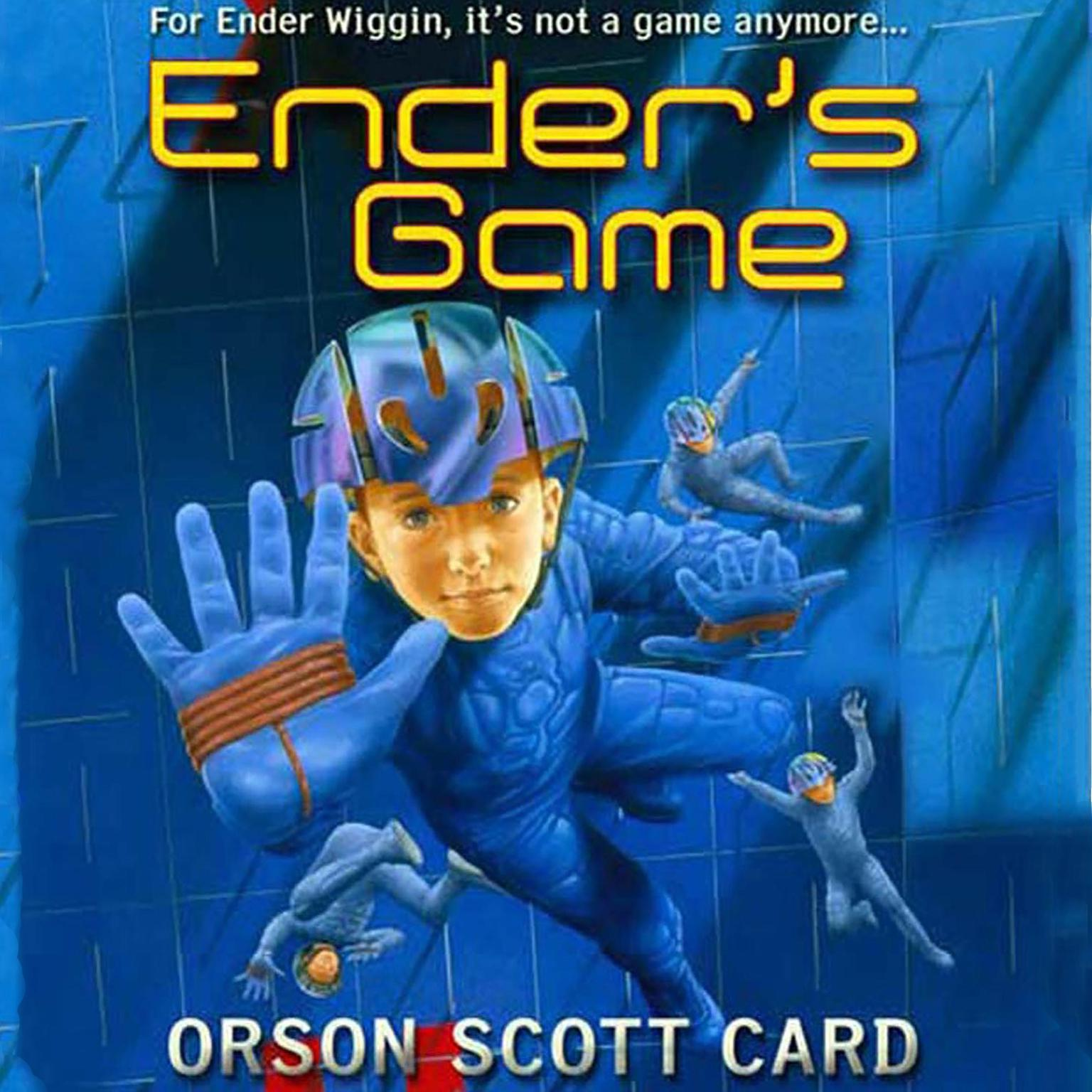 a report on the book enders game by orson scott card Paperback 2013 book condition: new the worldwide bestseller, ender's game by orson scott card comes to the screen at last in a major motion picture event in november 2013 starring hugo's asa butterfield, harrison ford, and ben kingsley, the movie is sure to inspire a new audience of fans to read the book that started it all.