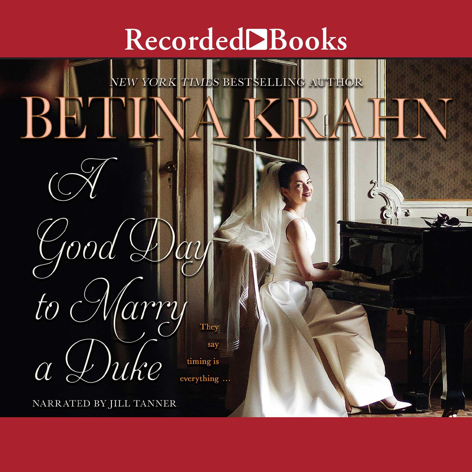 Printable A Good Day to Marry a Duke Audiobook Cover Art