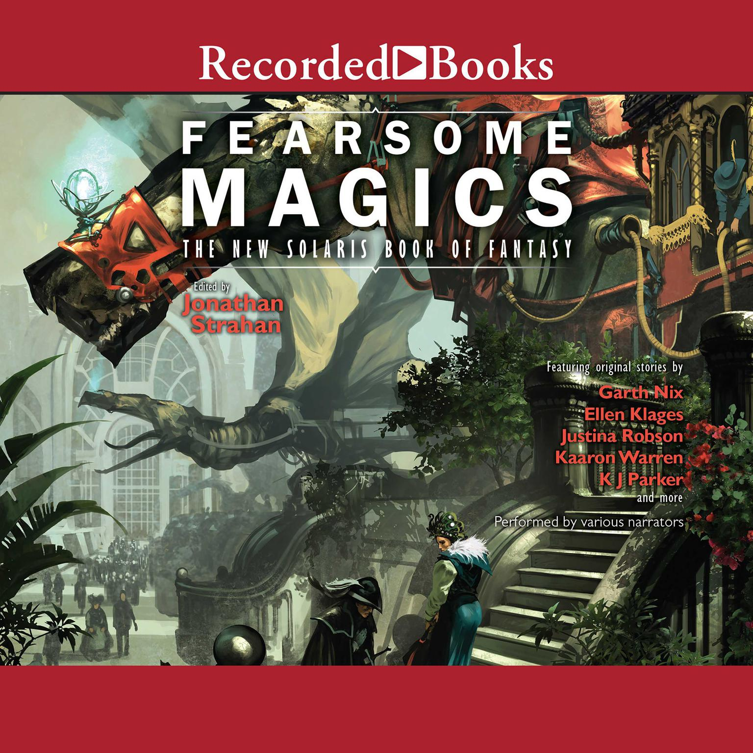Printable Fearsome Magics Audiobook Cover Art