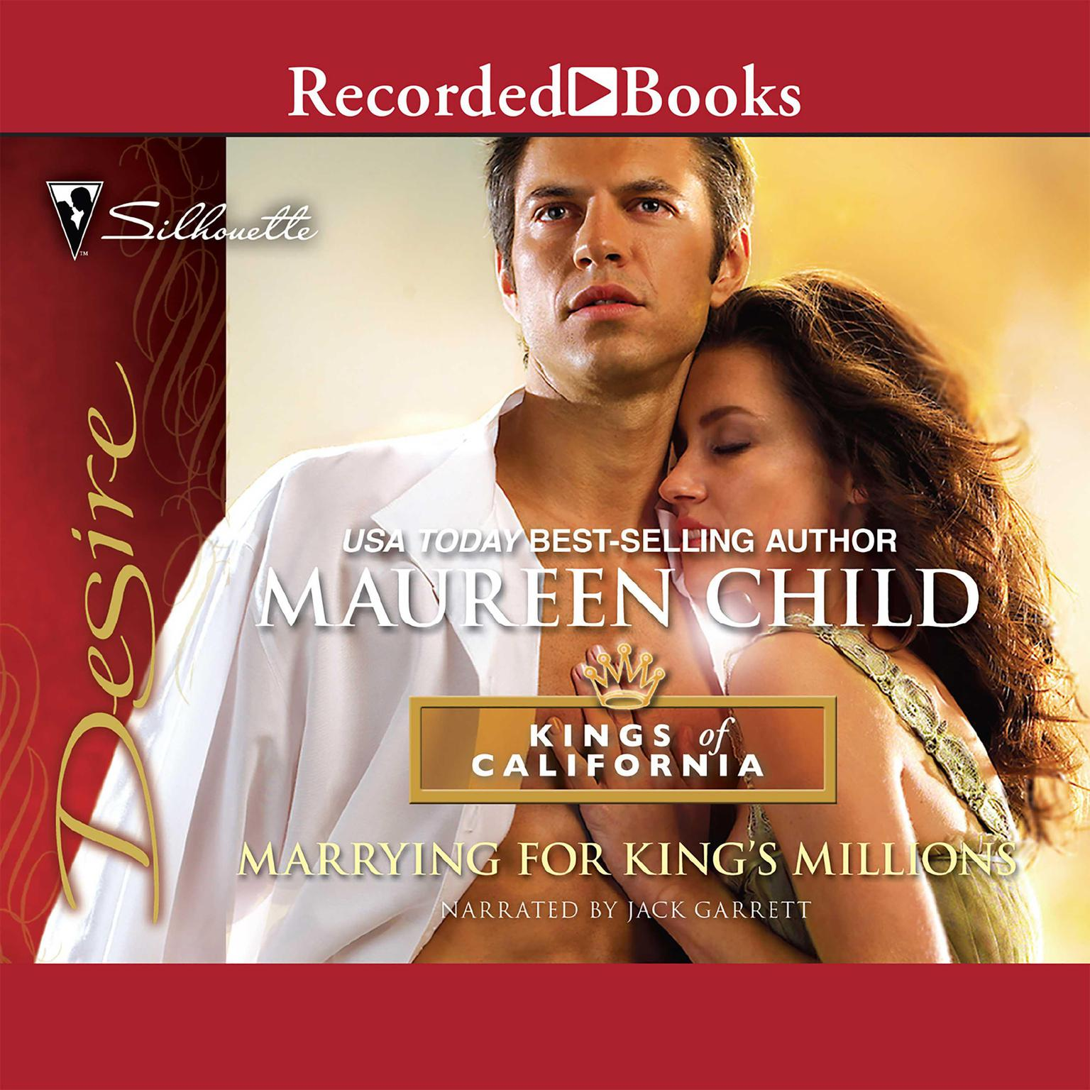 Printable Marrying for King's Millions Audiobook Cover Art
