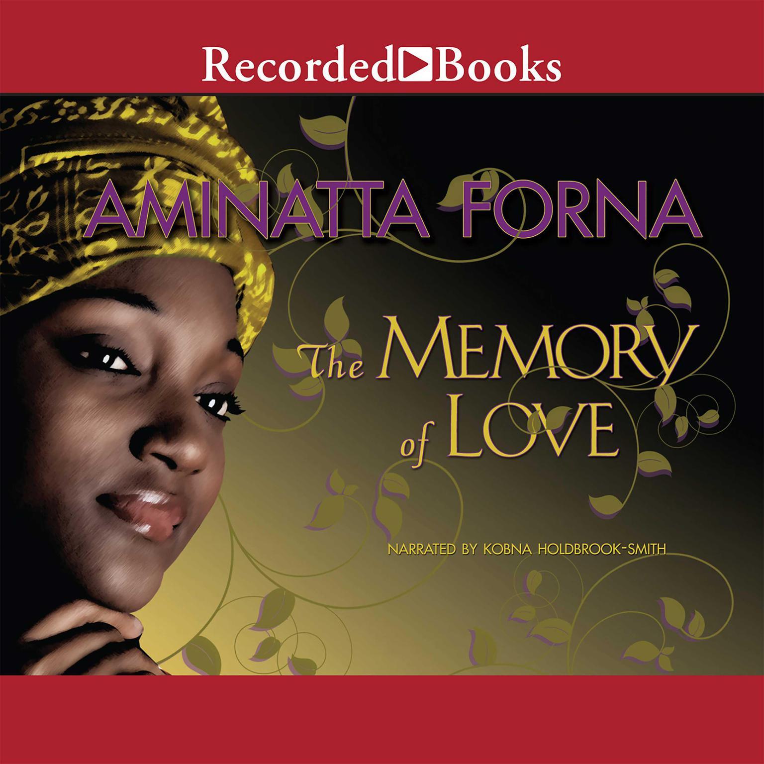 Printable The Memory of Love Audiobook Cover Art