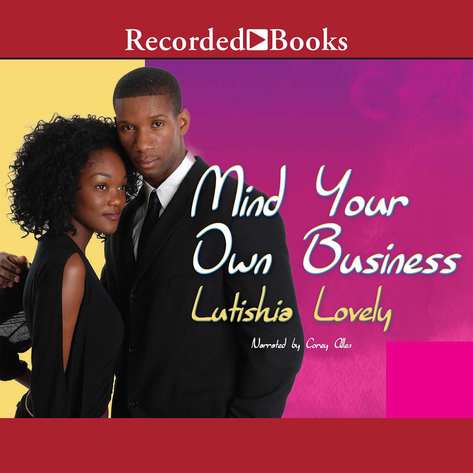 Printable Mind Your Own Business Audiobook Cover Art