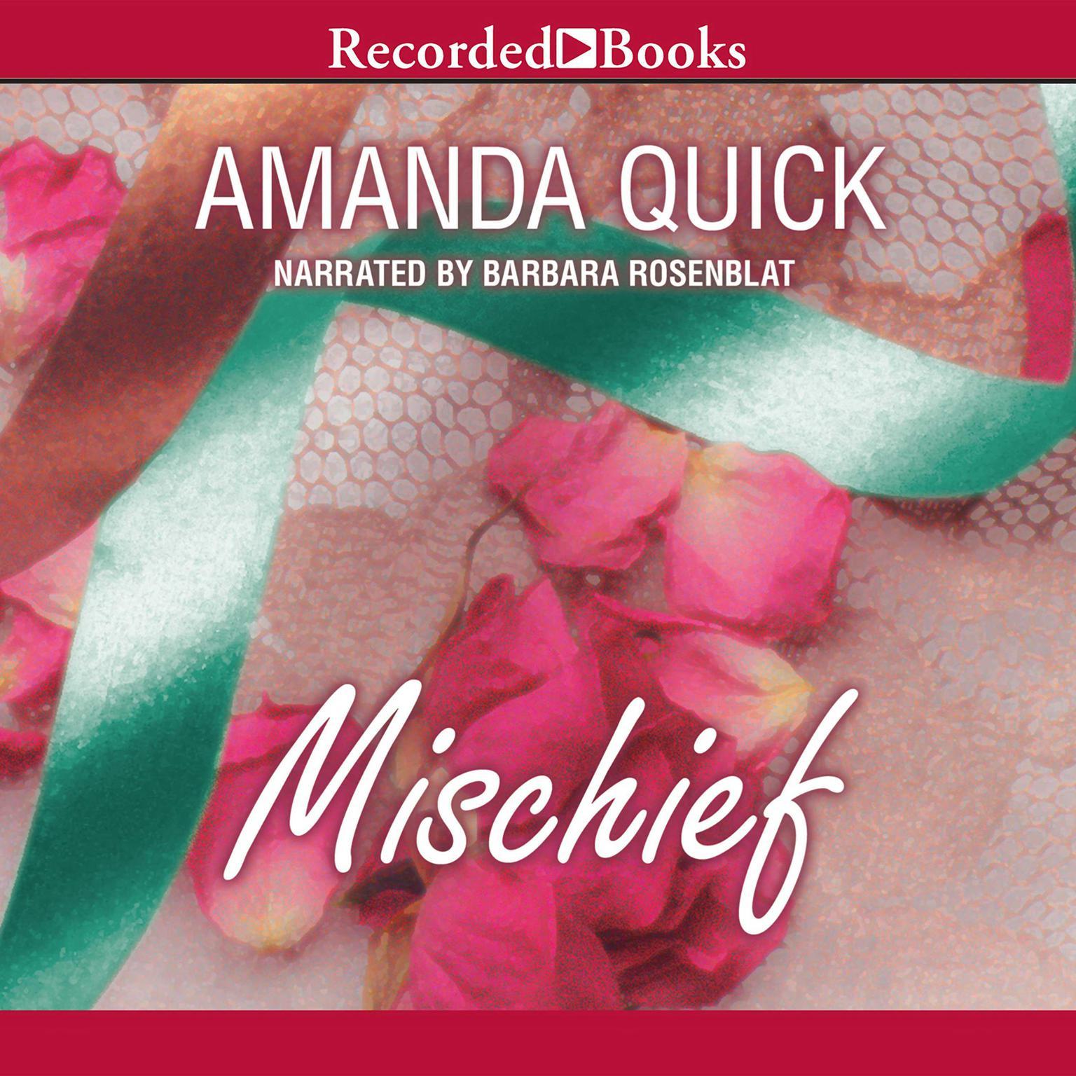 Printable Mischief Audiobook Cover Art