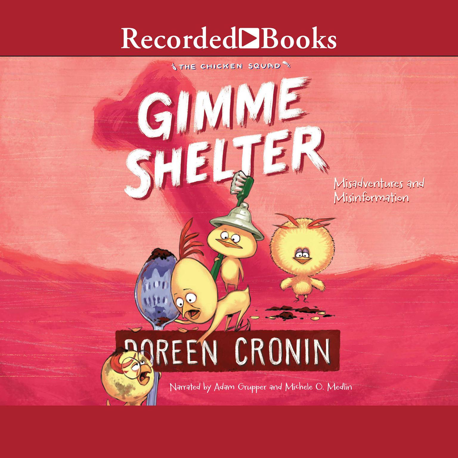 Printable Gimme Shelter: Misadventures and Misinformation Audiobook Cover Art