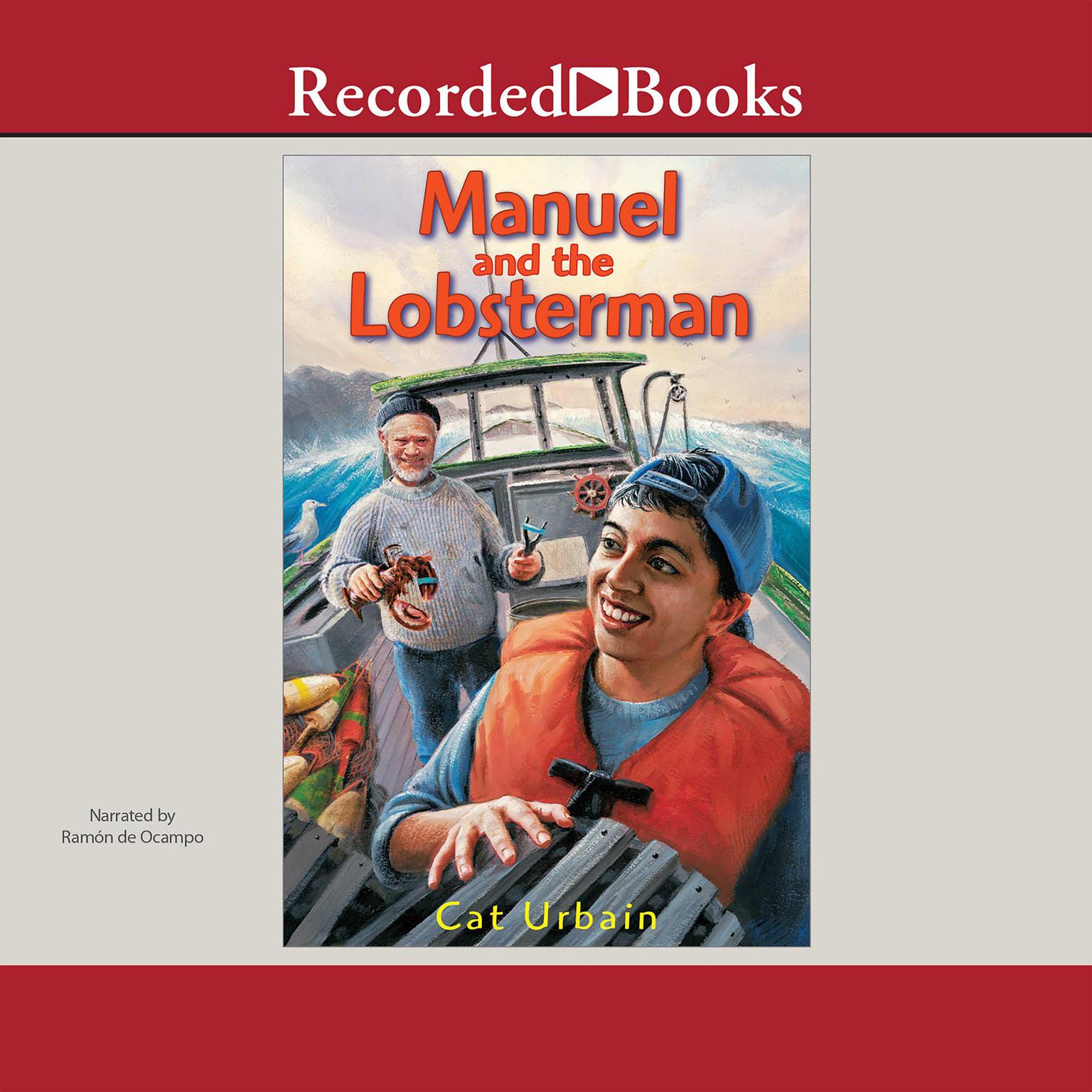 Printable Manuel and the Lobsterman Audiobook Cover Art