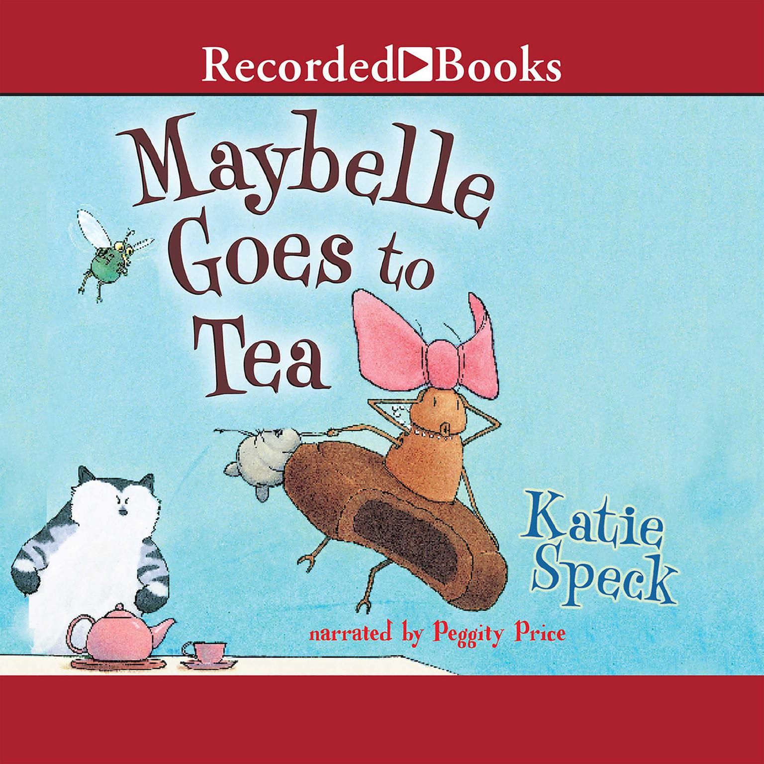 Printable Maybelle Goes to Tea Audiobook Cover Art