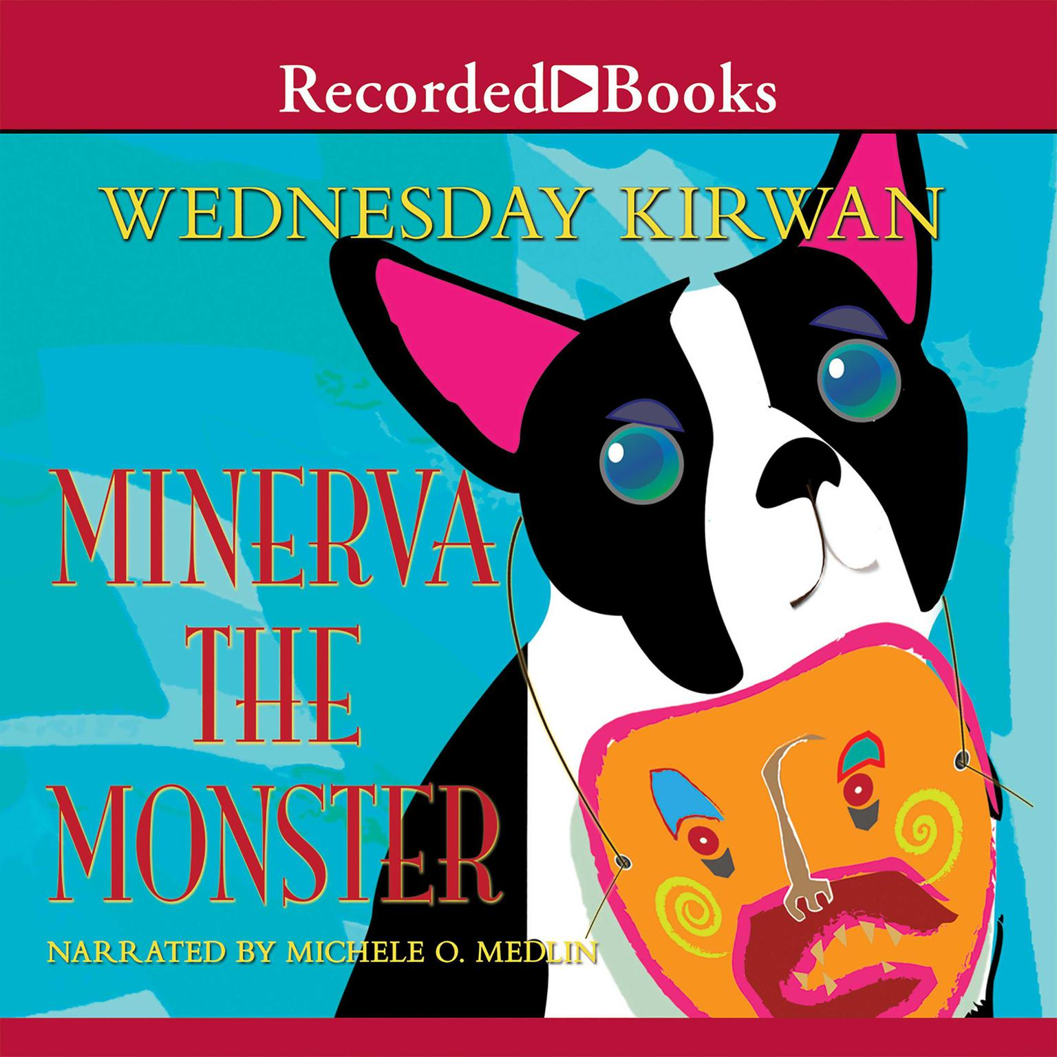 Printable Minerva the Monster Audiobook Cover Art