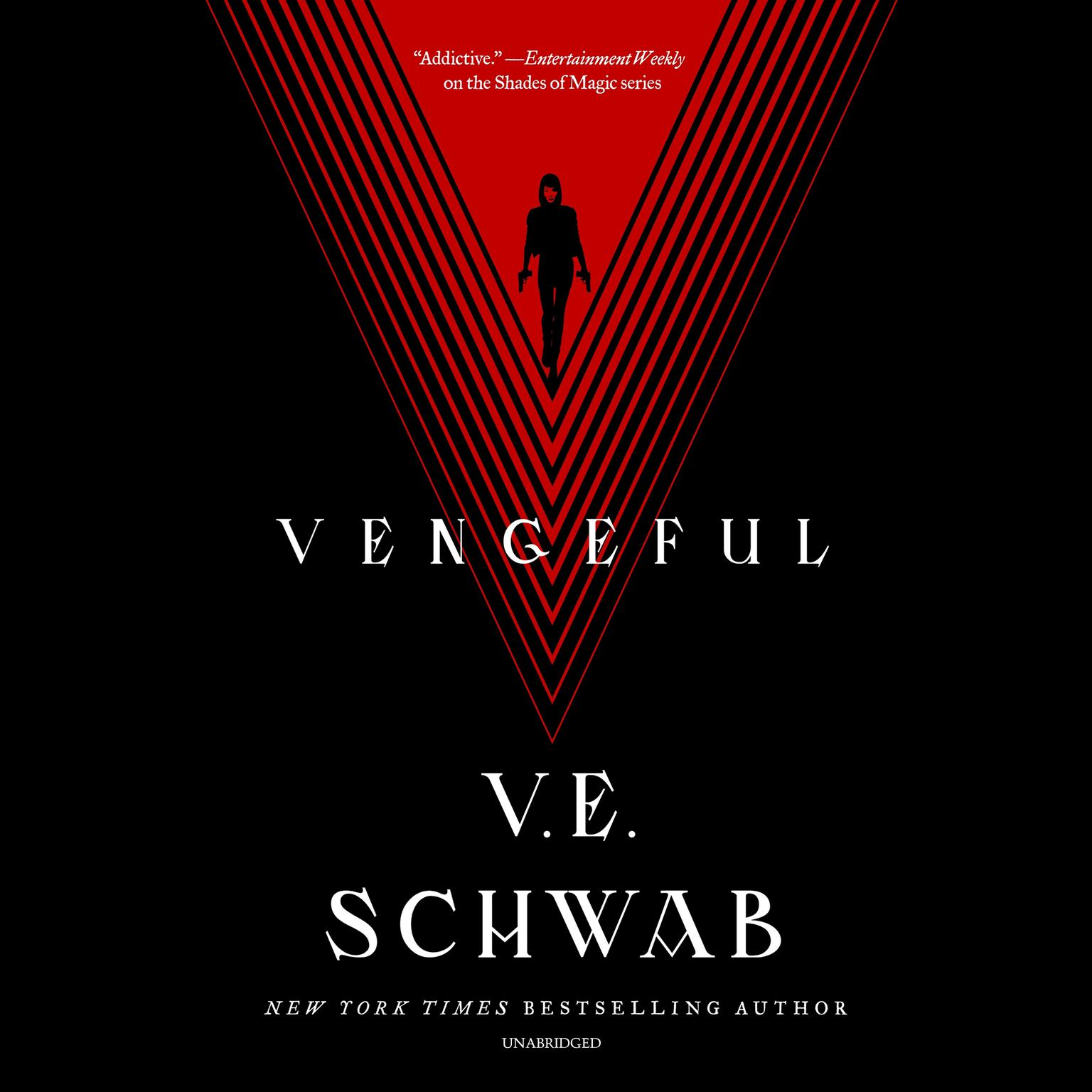 Printable Vengeful Audiobook Cover Art