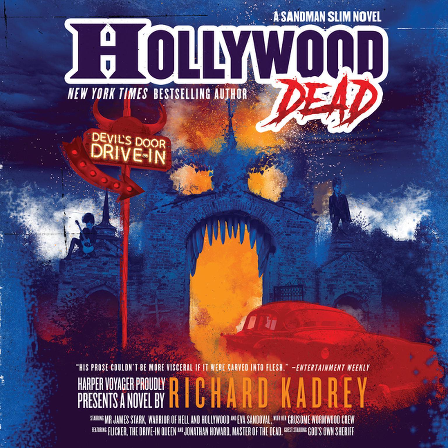 Printable Hollywood Dead: A Sandman Slim Novel Audiobook Cover Art