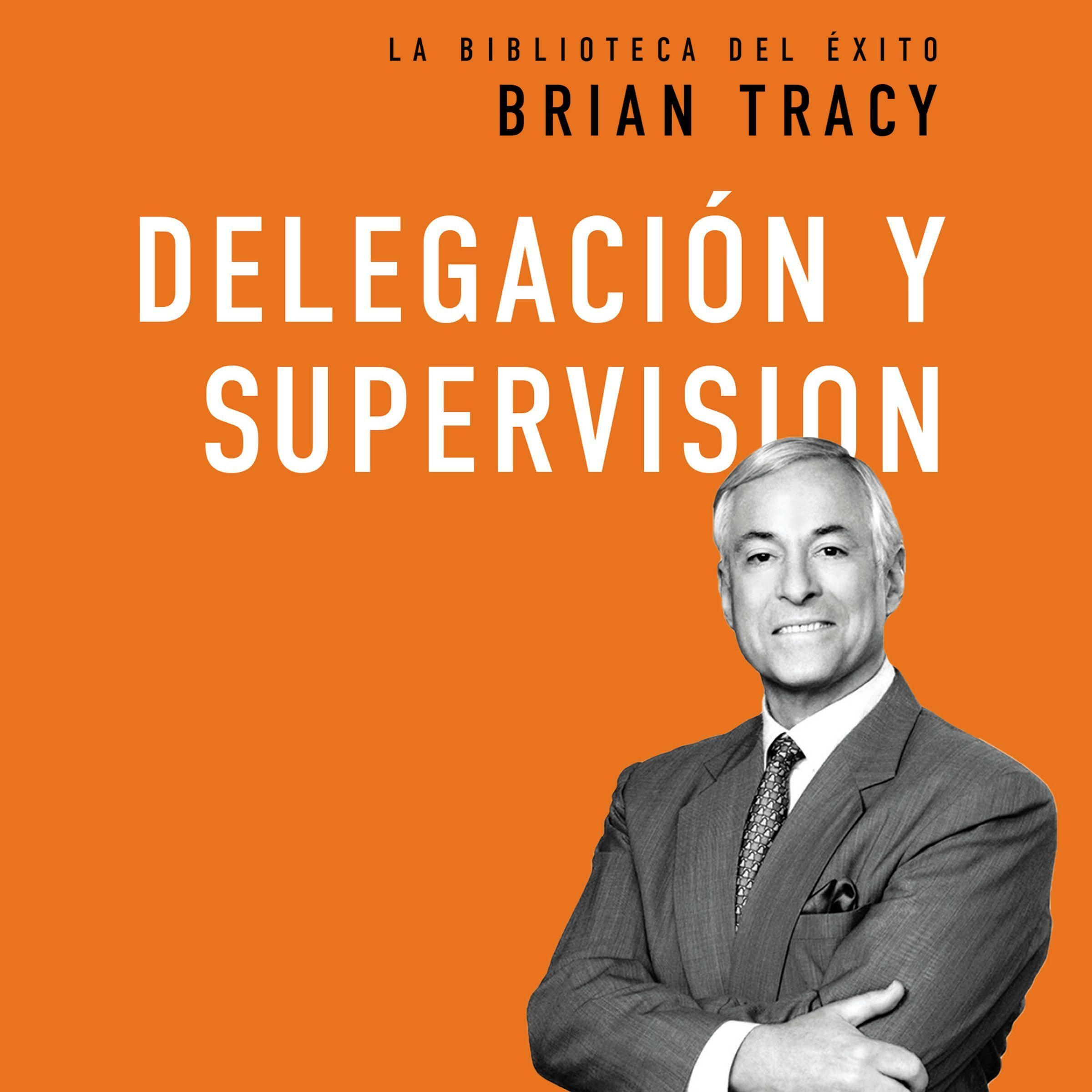 Printable Delegación y supervisión Audiobook Cover Art
