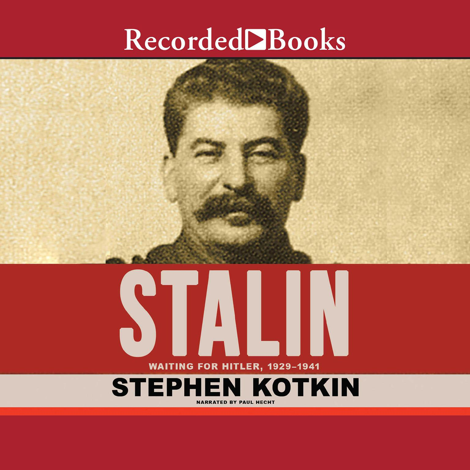 Printable Stalin, Volume II: Waiting for Hitler, 1929-1941 Audiobook Cover Art