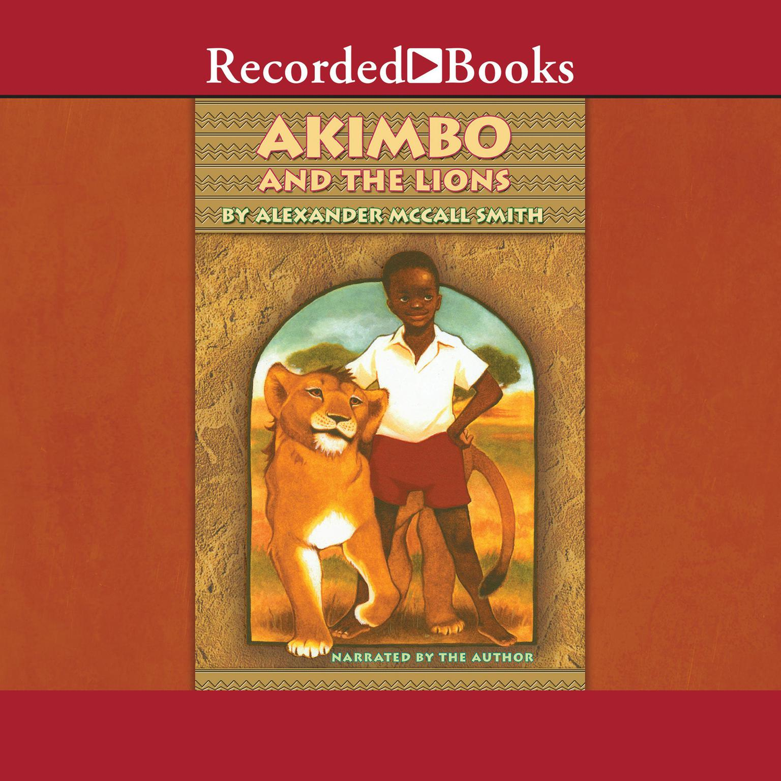 Printable Akimbo and the Lions Audiobook Cover Art