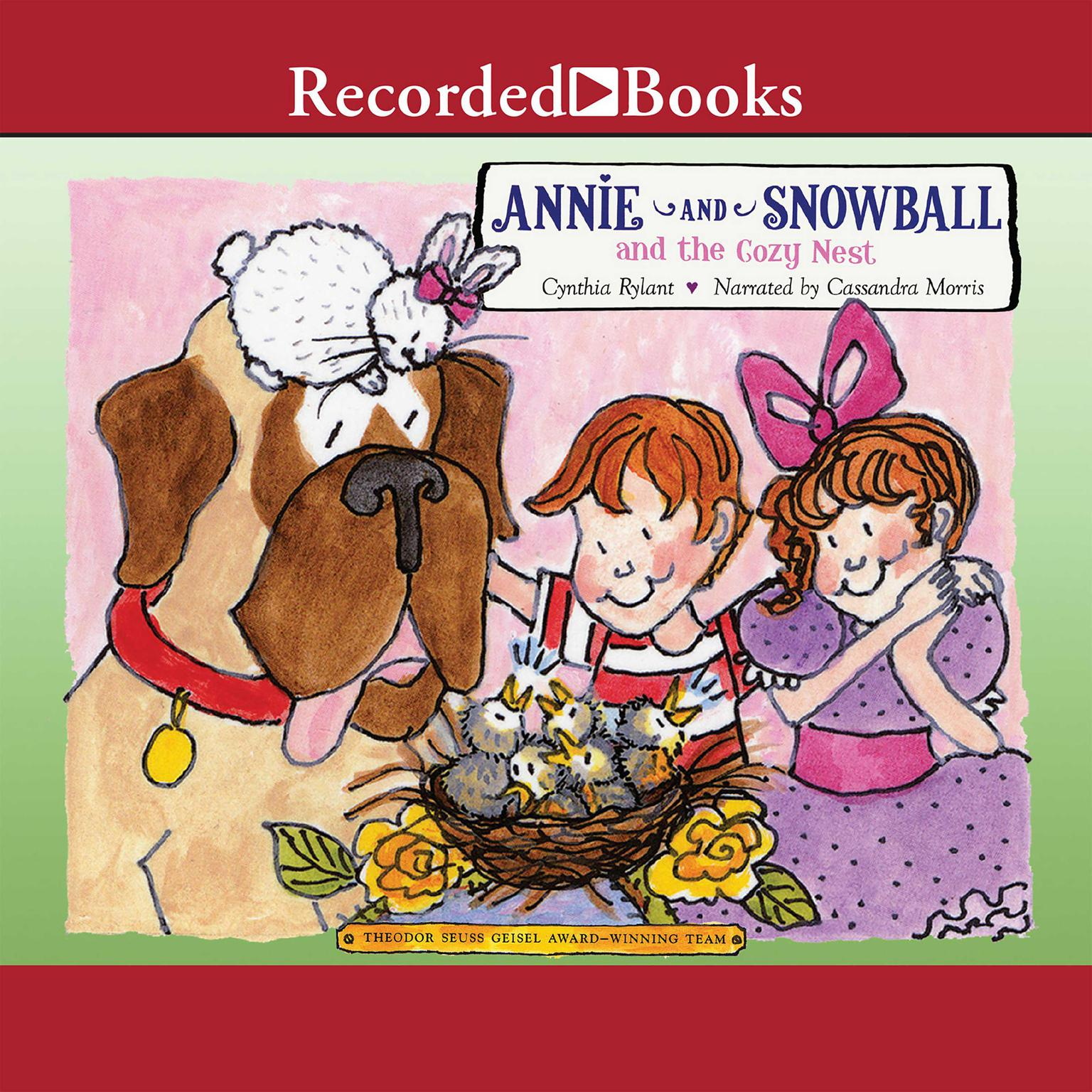 Printable Annie and Snowball and the Cozy Nest Audiobook Cover Art