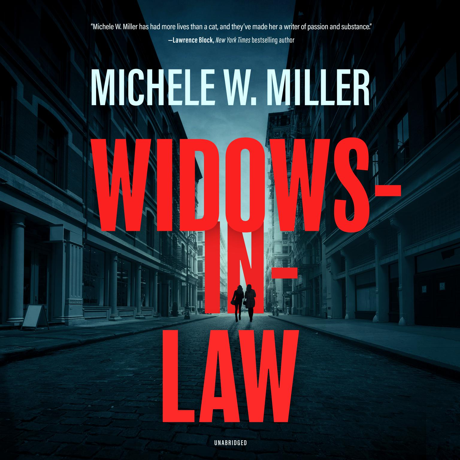 Printable Widows-in-Law Audiobook Cover Art