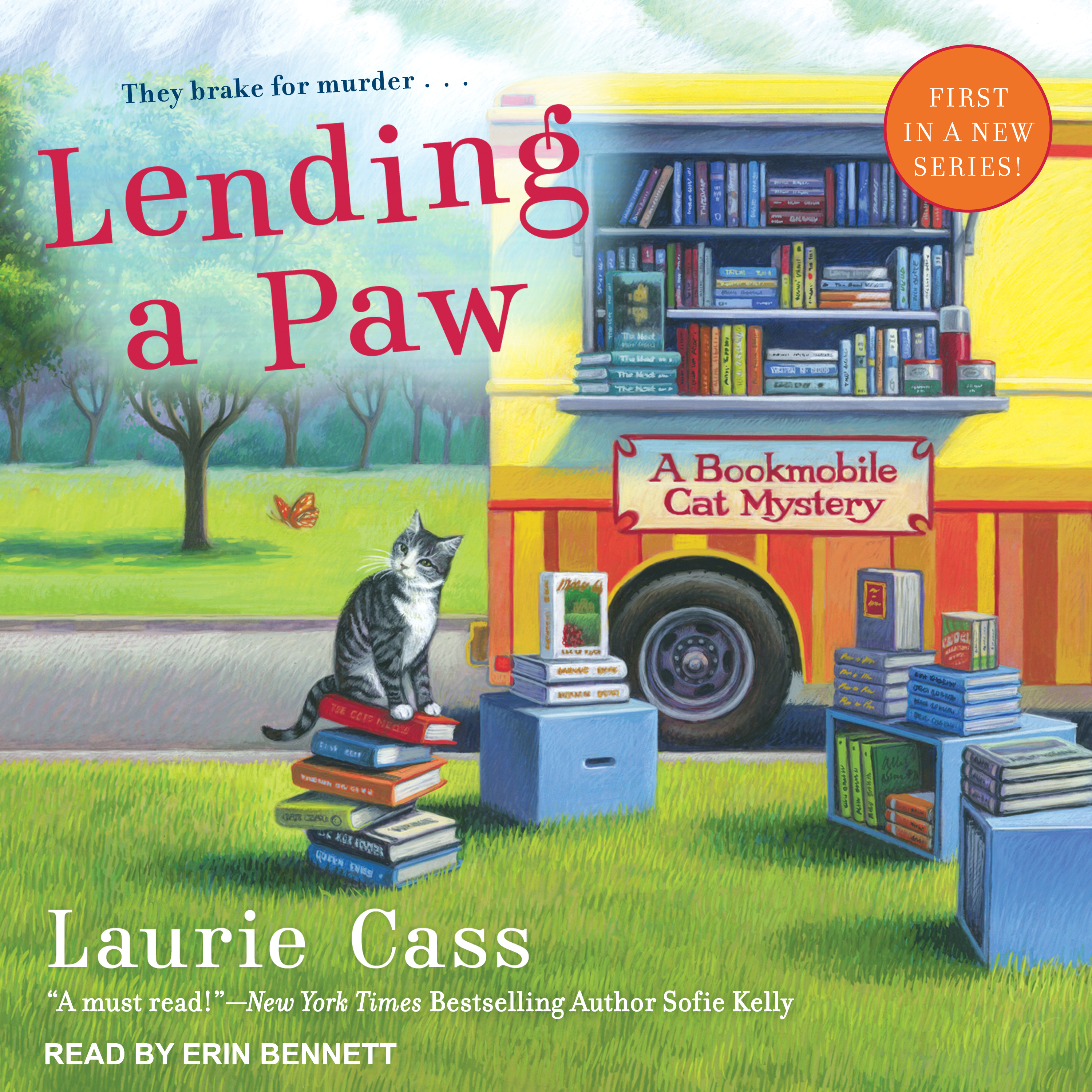 Printable Lending a Paw Audiobook Cover Art