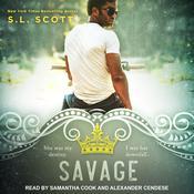 Savage Audiobook, by S.L. Scott
