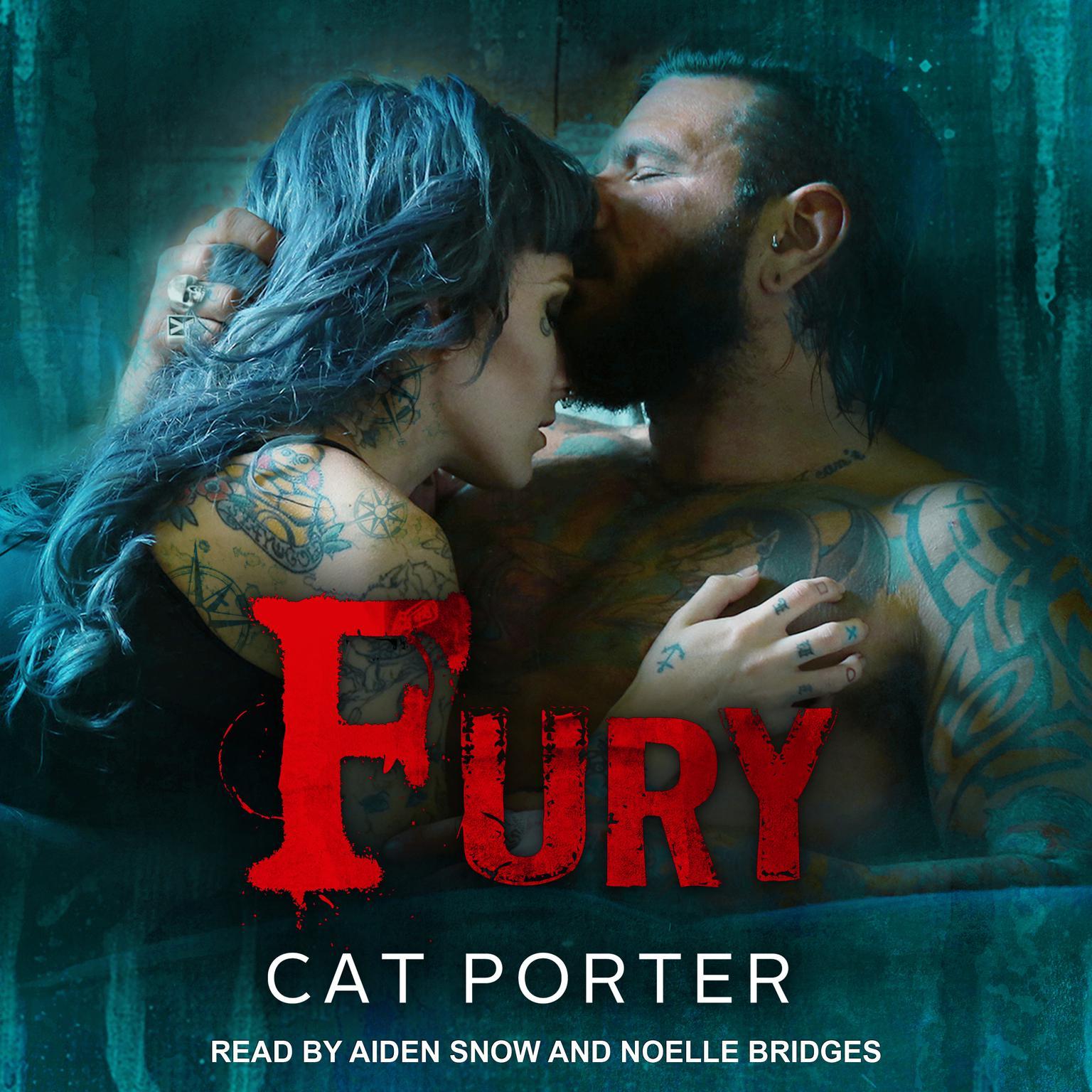 Printable Fury Audiobook Cover Art