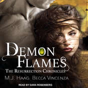 Demon Flames Audiobook, by Becca Vincenza, M.J. Haag
