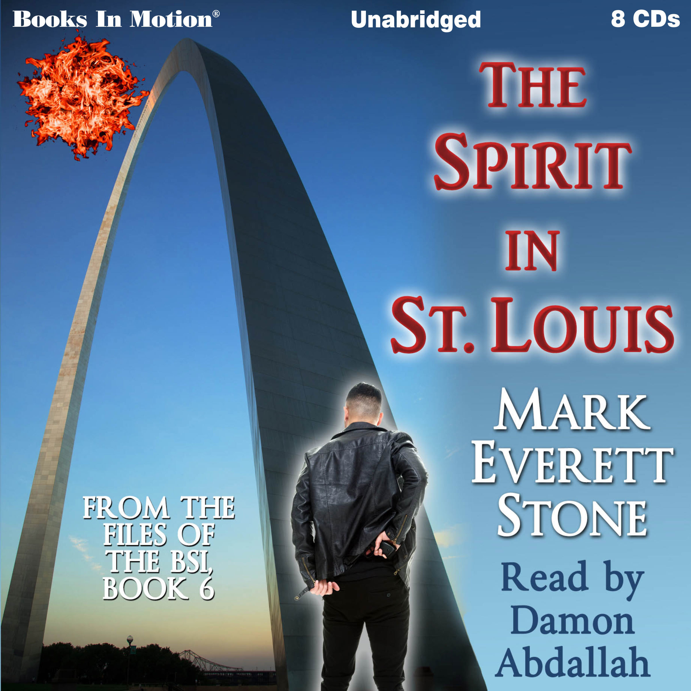 Printable The Spirit In St. Louis (From the Files of the FBI, Book 6): From the Files of the FBI, Book 6 Audiobook Cover Art